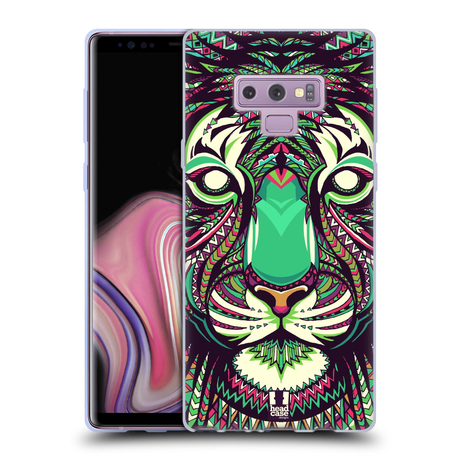 Silikonové pouzdro na mobil Samsung Galaxy Note 9 - Head Case - AZTEC TYGR