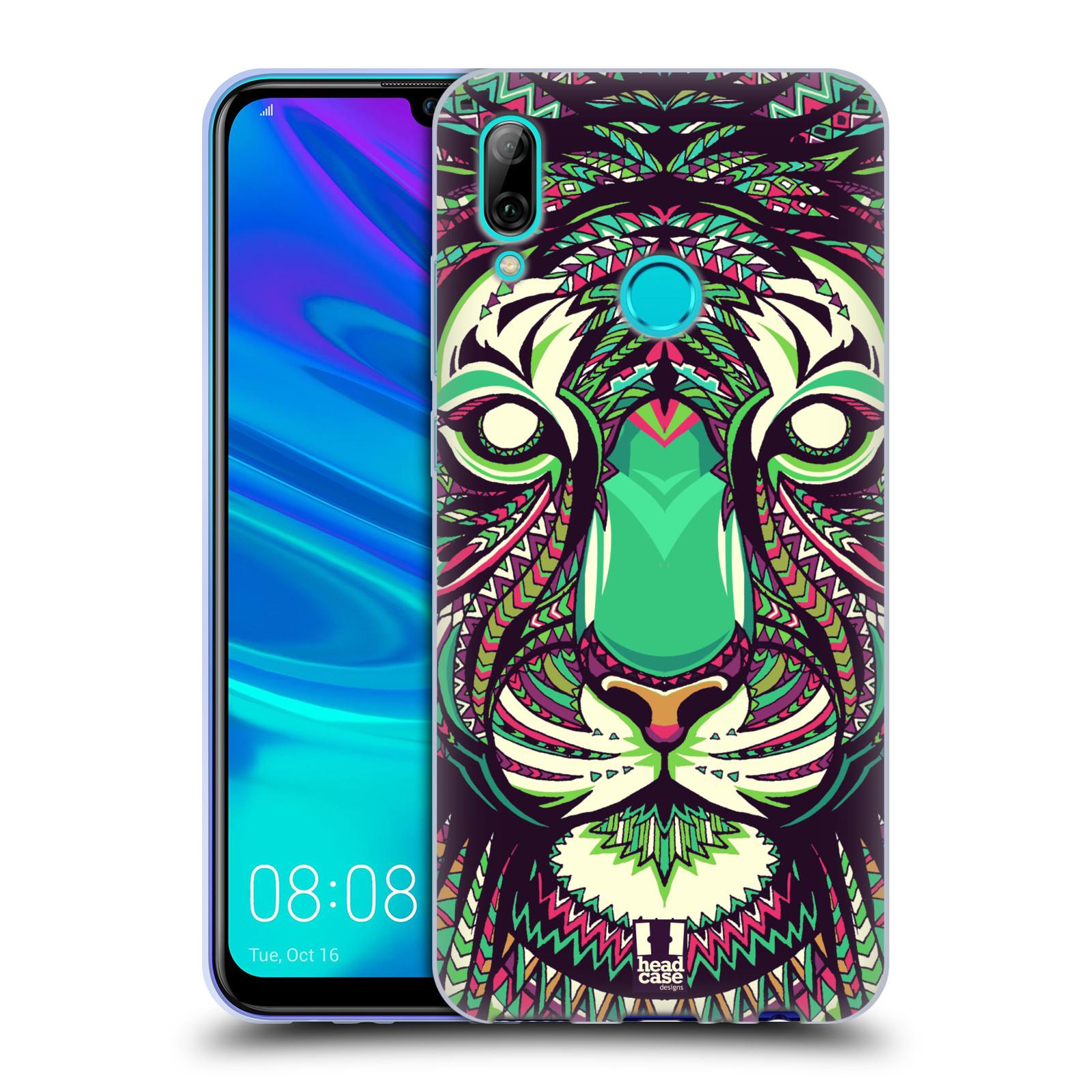 Silikonové pouzdro na mobil Huawei P Smart (2019) - Head Case - AZTEC TYGR