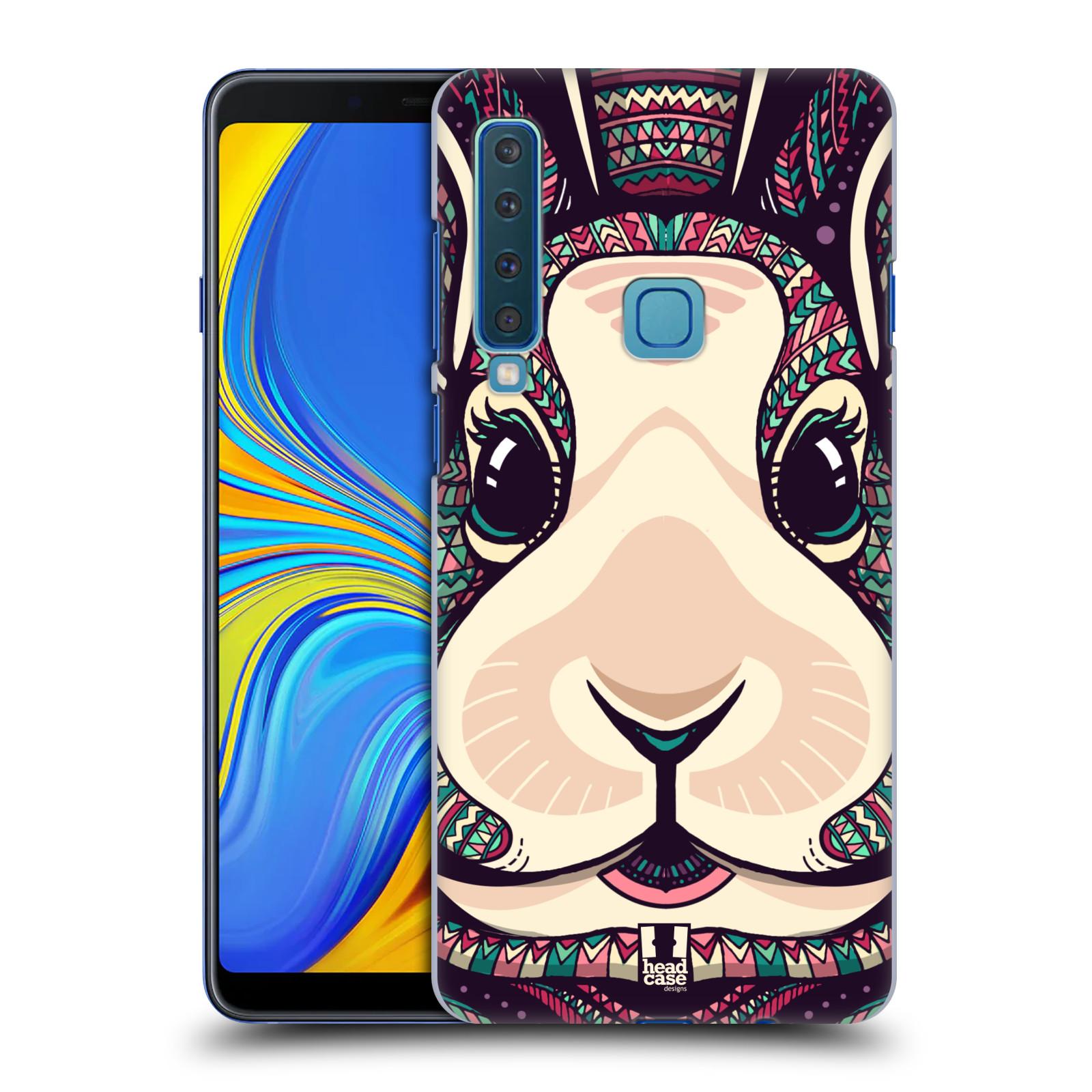 Plastové pouzdro na mobil Samsung Galaxy A9 (2018) - Head Case - AZTEC ZAJÍČEK