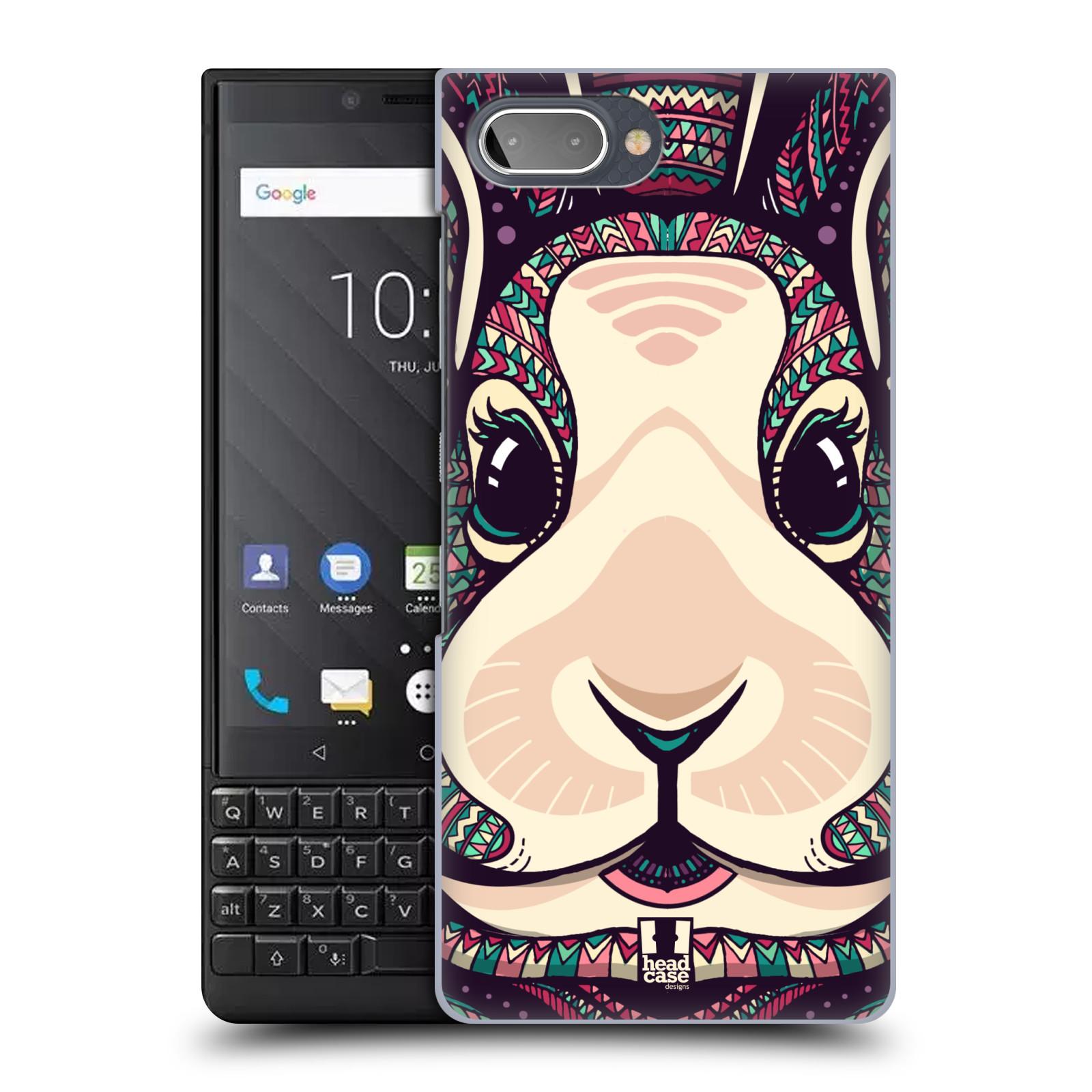 Plastové pouzdro na mobil Blackberry Key 2 - Head Case - AZTEC ZAJÍČEK