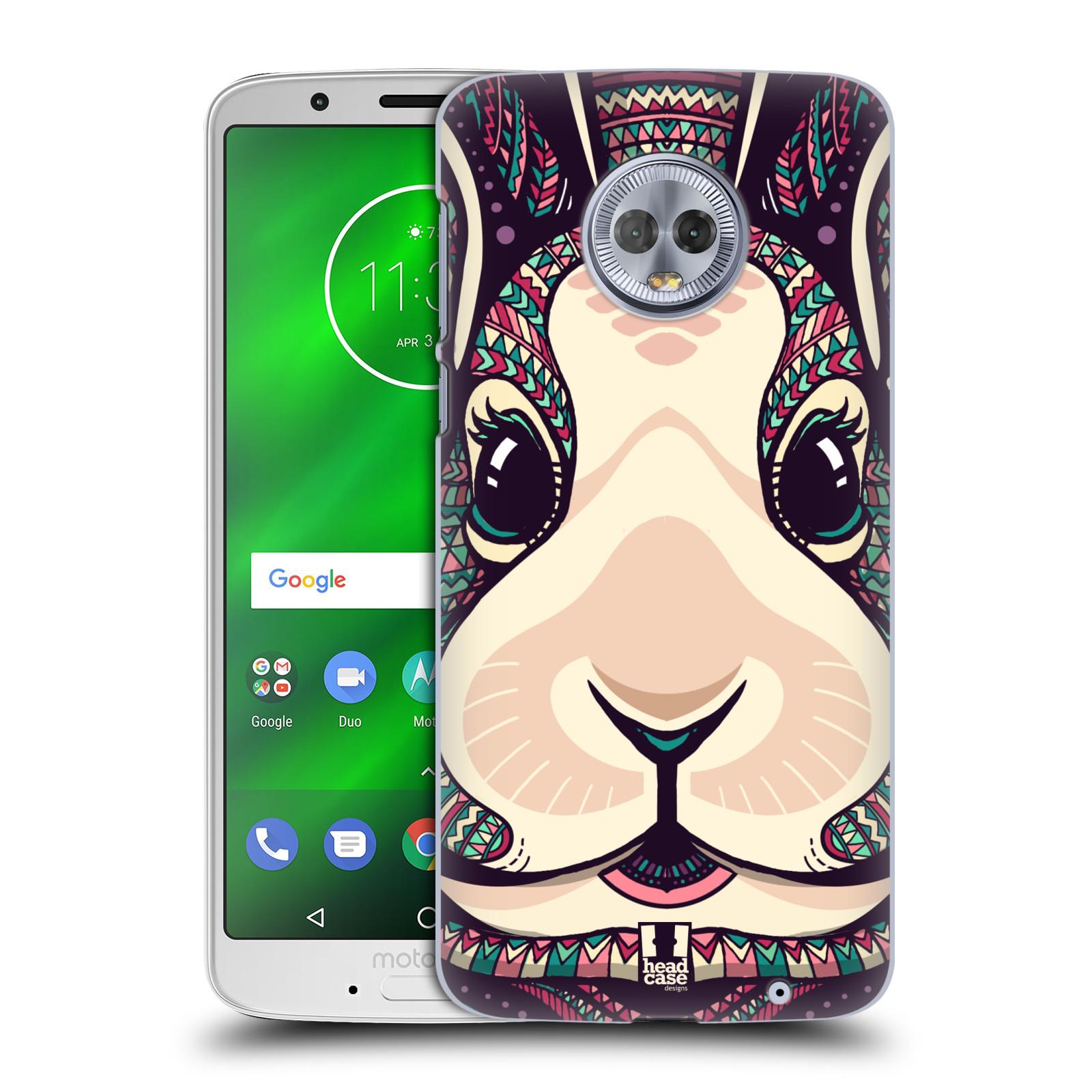 Plastové pouzdro na mobil Motorola Moto G6 Plus - Head Case - AZTEC ZAJÍČEK