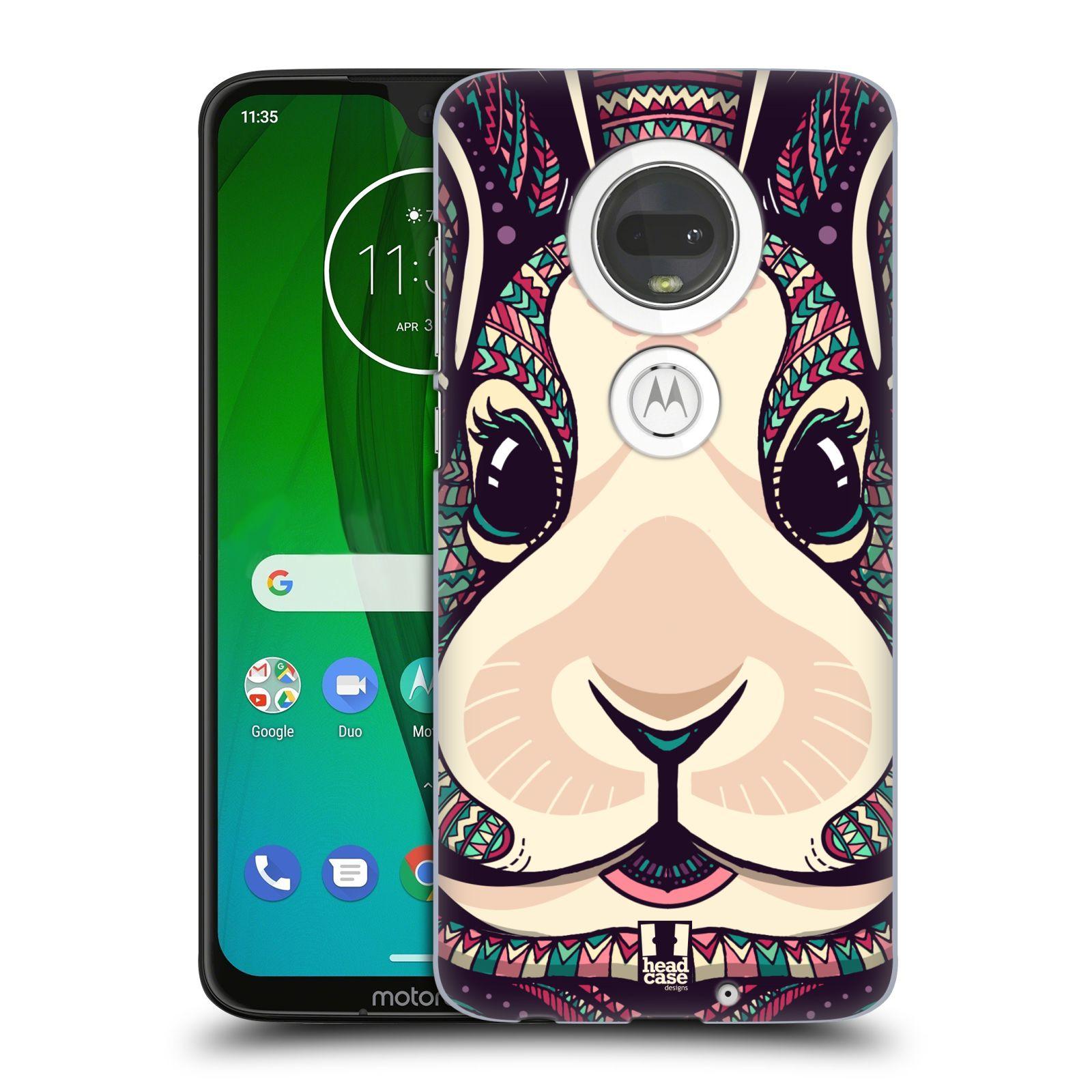 Plastové pouzdro na mobil Motorola Moto G7 - Head Case - AZTEC ZAJÍČEK
