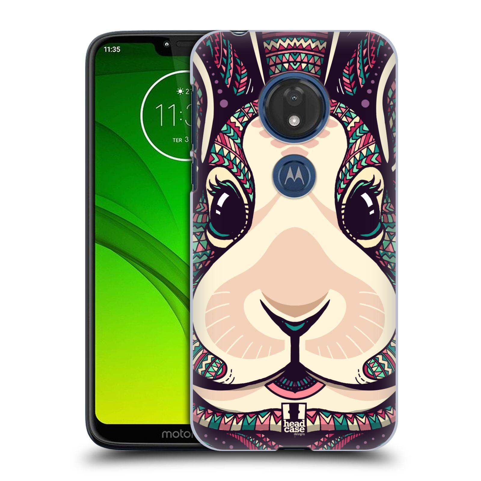 Plastové pouzdro na mobil Motorola Moto G7 Play - Head Case - AZTEC ZAJÍČEK