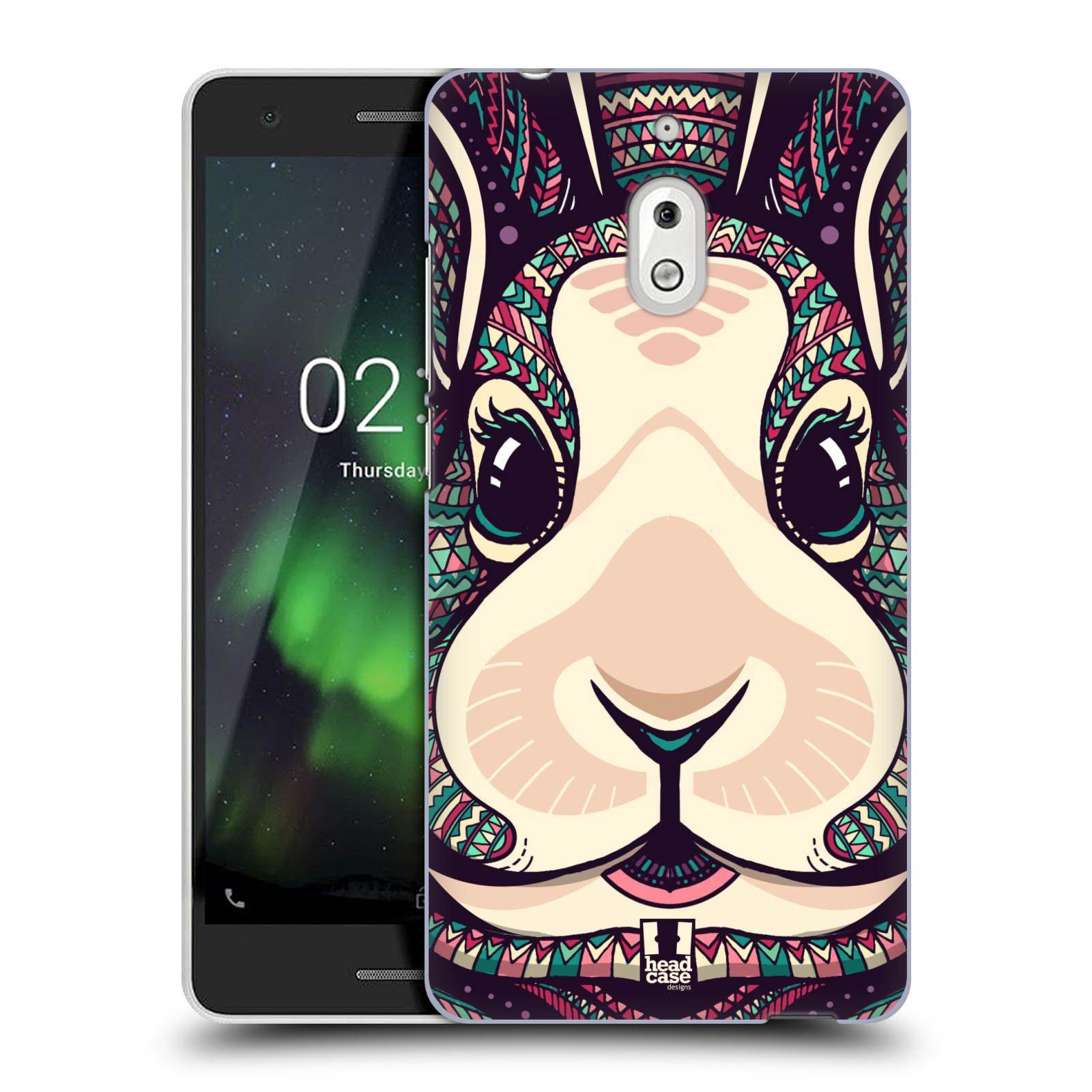 Plastové pouzdro na mobil Nokia 2.1 - Head Case - AZTEC ZAJÍČEK