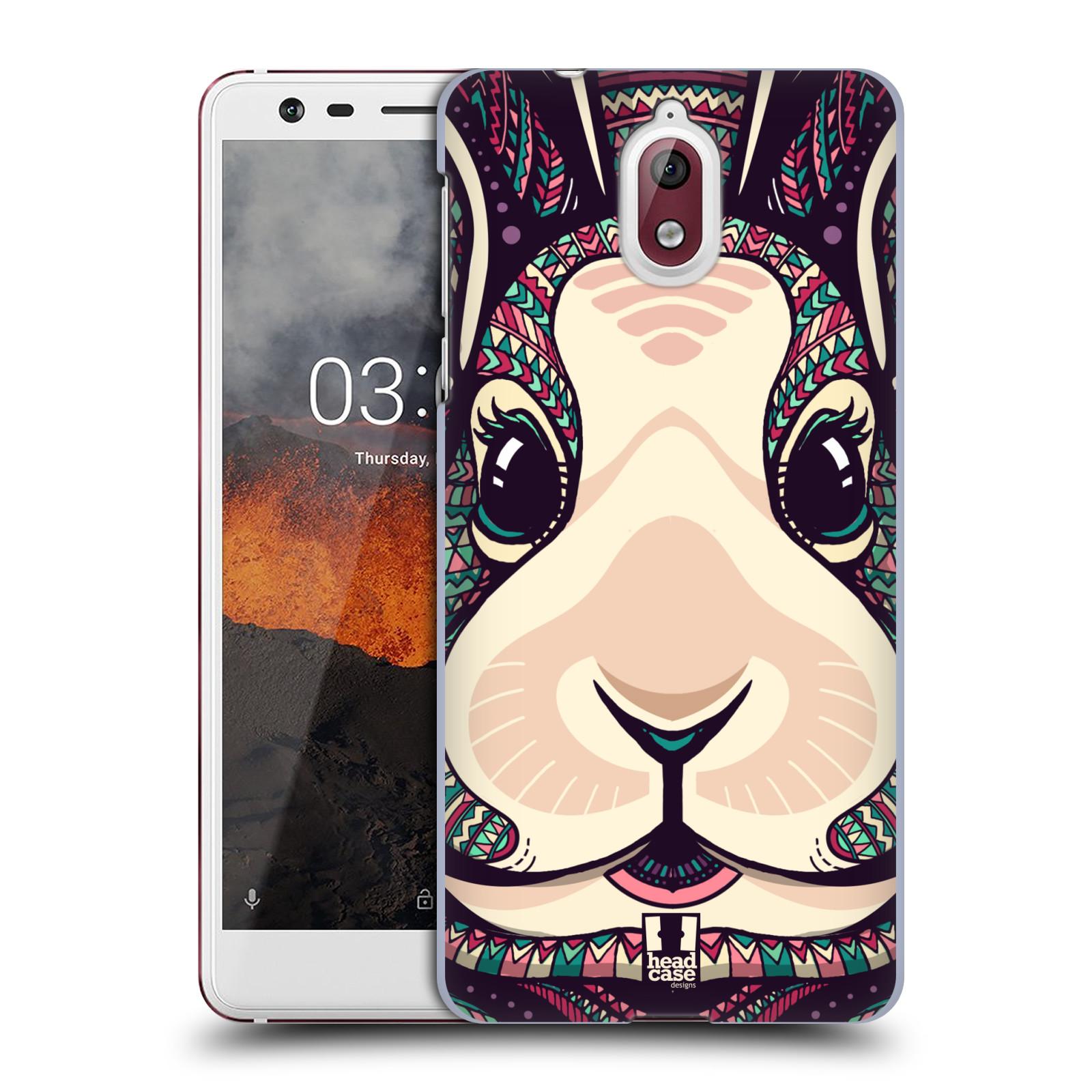Plastové pouzdro na mobil Nokia 3.1 - Head Case - AZTEC ZAJÍČEK