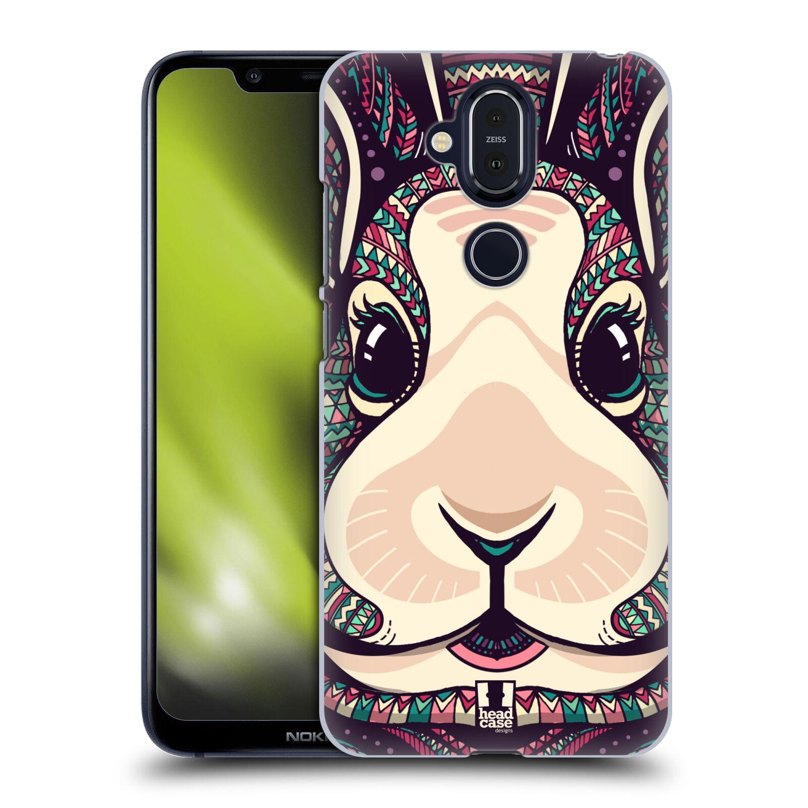 Plastové pouzdro na mobil Nokia 8.1 - Head Case - AZTEC ZAJÍČEK