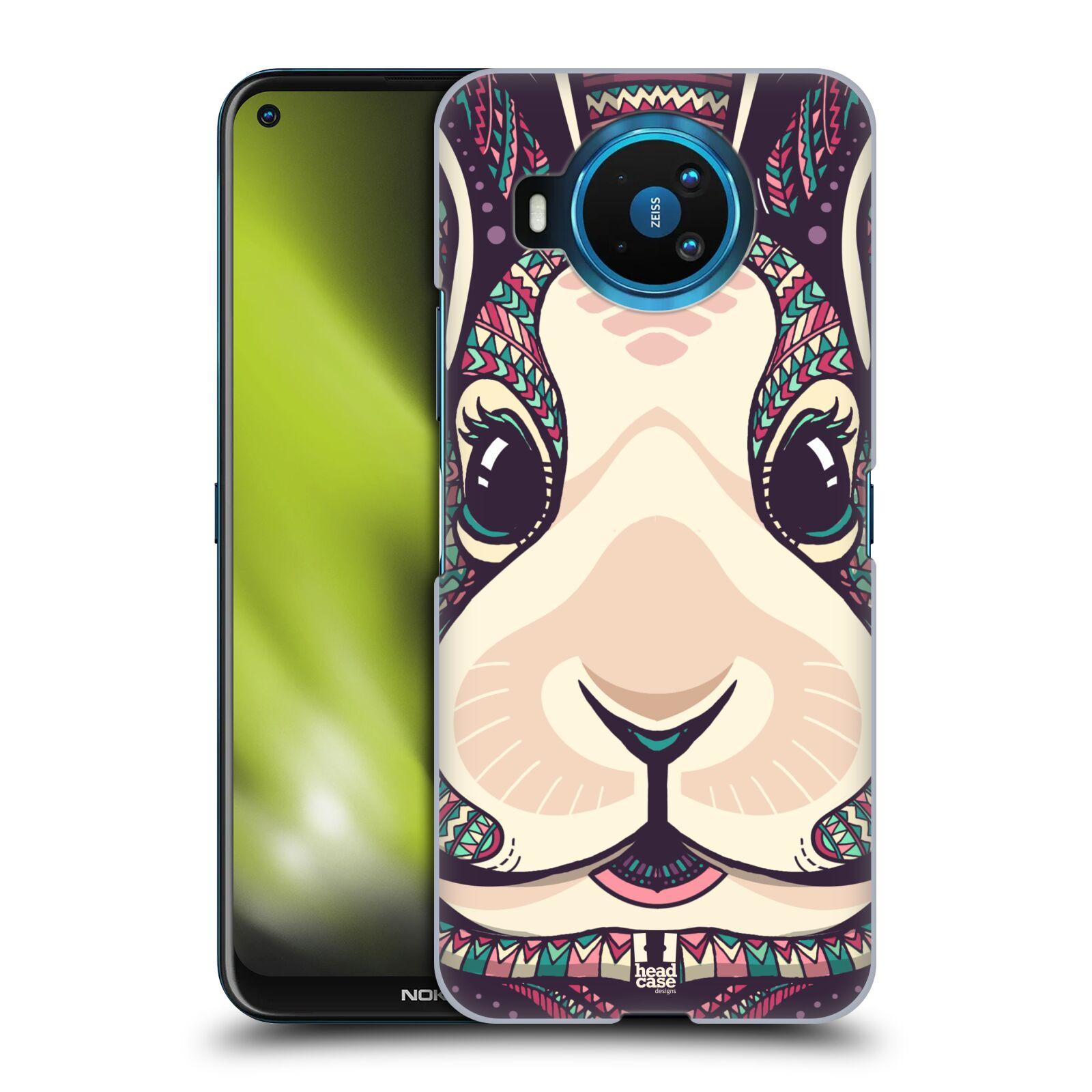Plastové pouzdro na mobil Nokia 8.3 5G - Head Case - AZTEC ZAJÍČEK
