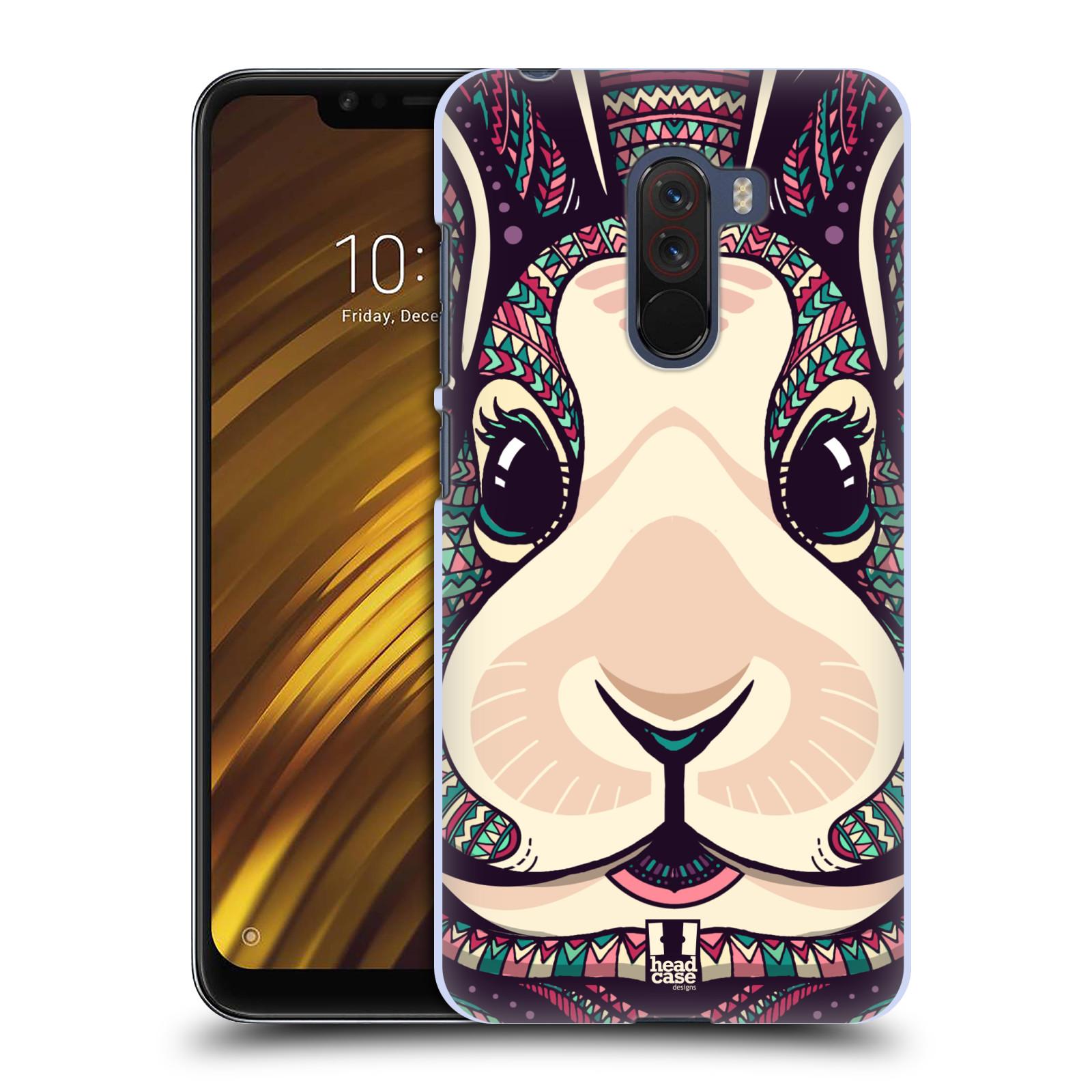 Plastové pouzdro na mobil Xiaomi Pocophone F1 - Head Case - AZTEC ZAJÍČEK