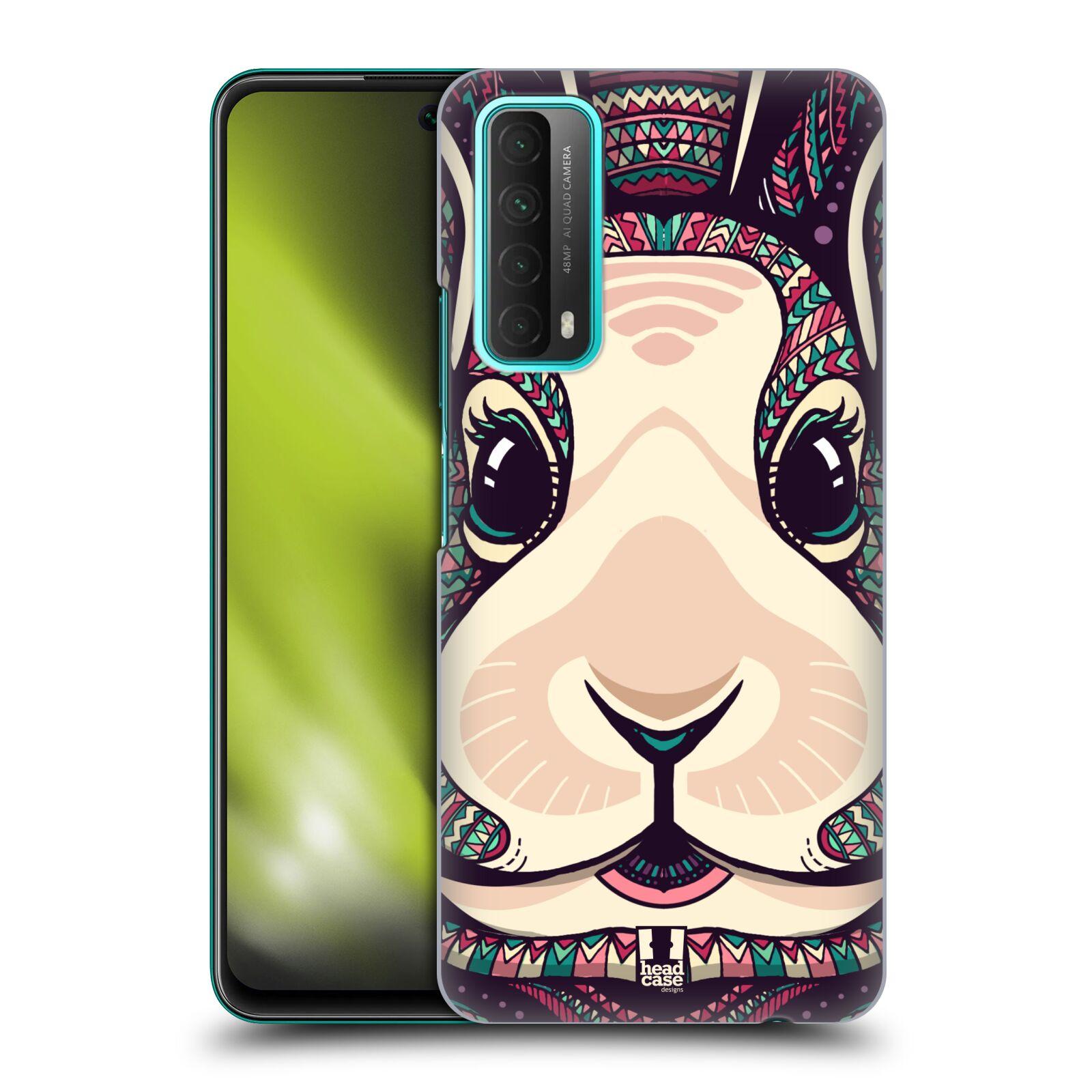 Plastové pouzdro na mobil Huawei P Smart (2021) - Head Case - AZTEC ZAJÍČEK