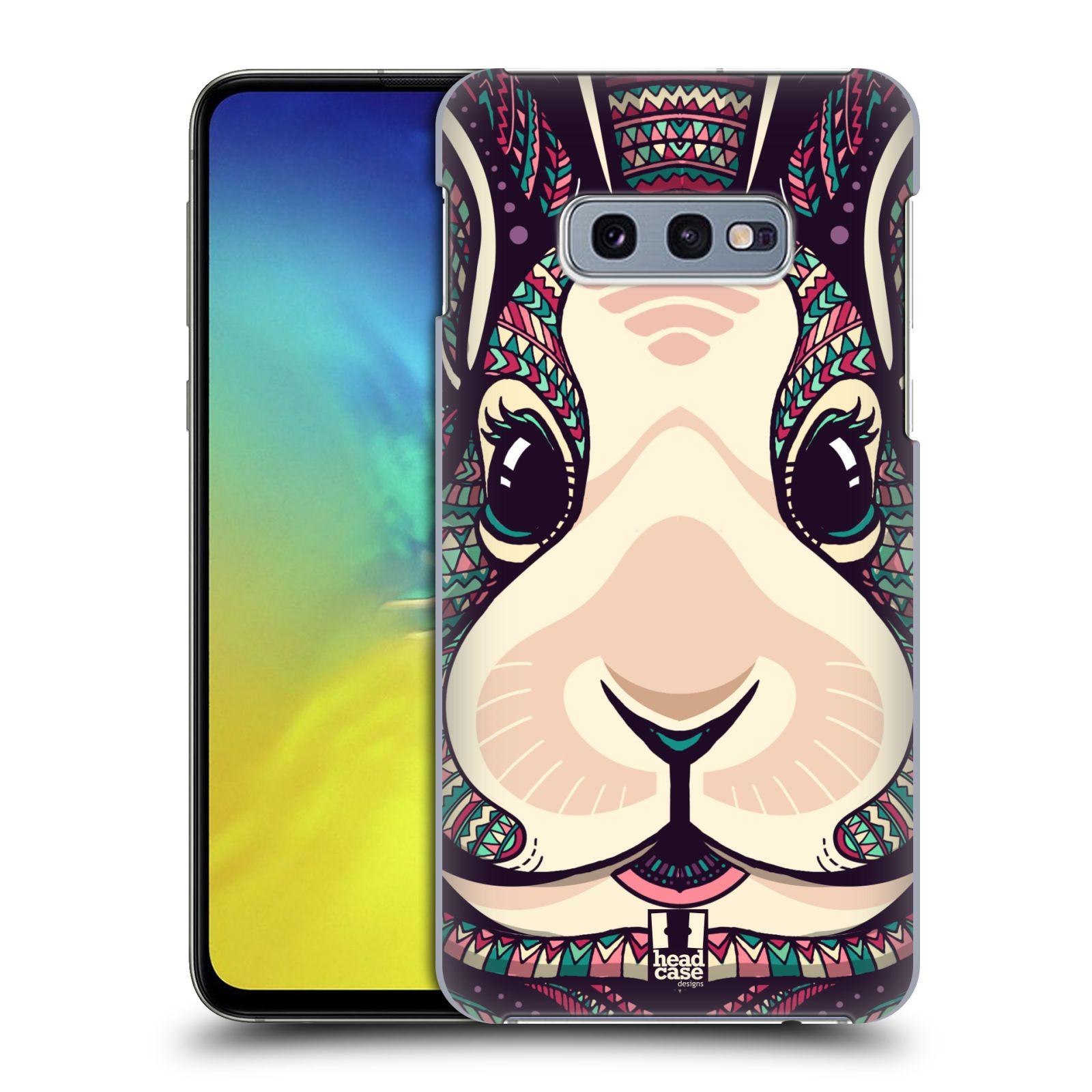 Plastové pouzdro na mobil Samsung Galaxy S10e - Head Case - AZTEC ZAJÍČEK