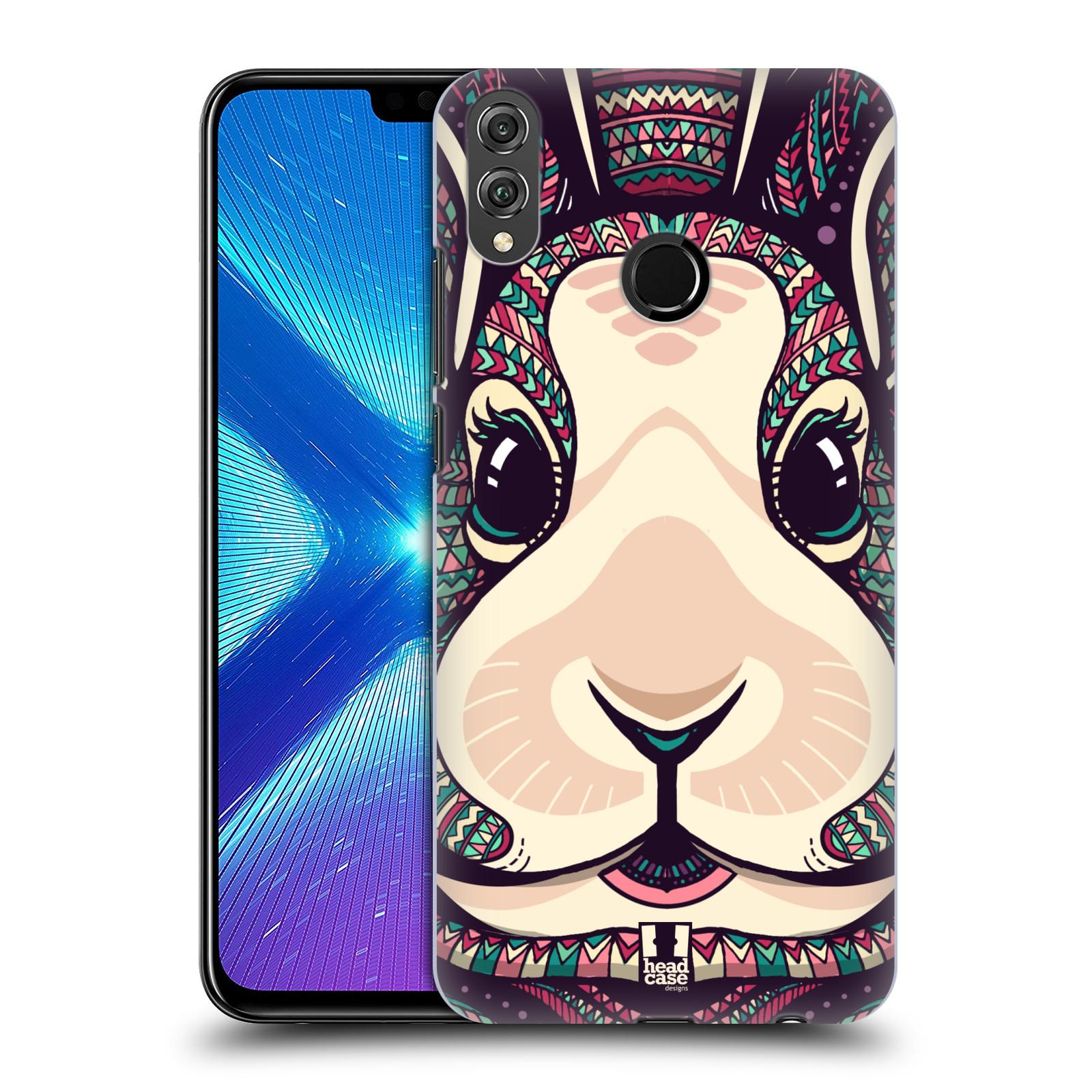 Plastové pouzdro na mobil Honor 8X - Head Case - AZTEC ZAJÍČEK