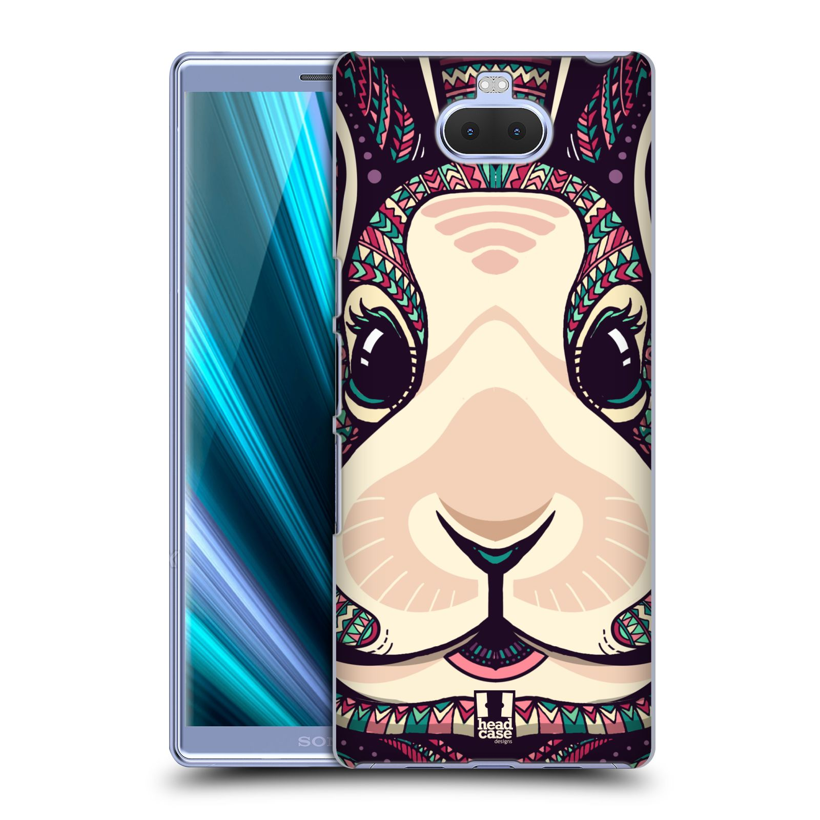 Plastové pouzdro na mobil Sony Xperia 10 - Head Case - AZTEC ZAJÍČEK
