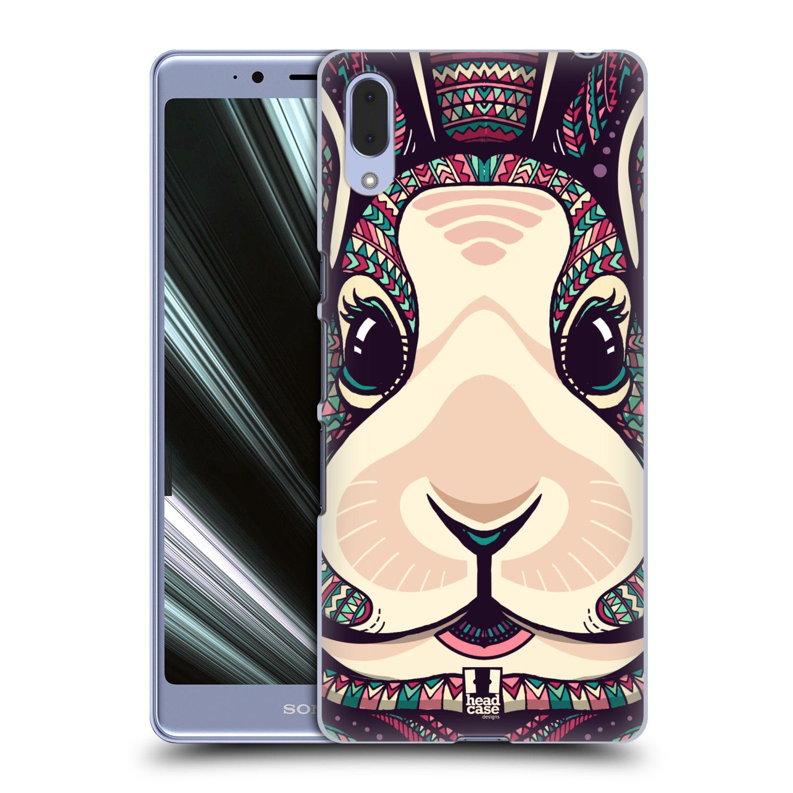 Plastové pouzdro na mobil Sony Xperia L3 - Head Case - AZTEC ZAJÍČEK