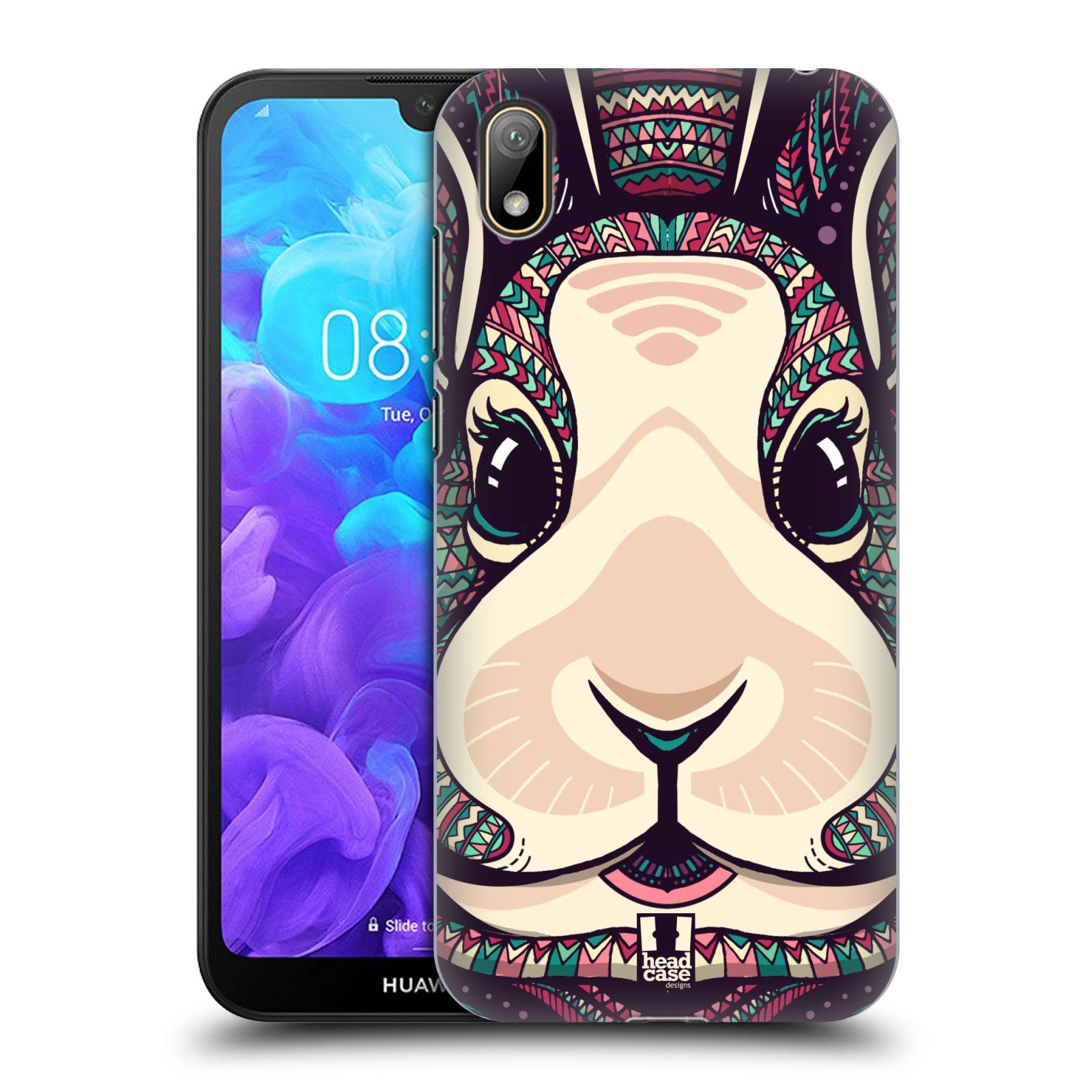 Plastové pouzdro na mobil Honor 8S - Head Case - AZTEC ZAJÍČEK