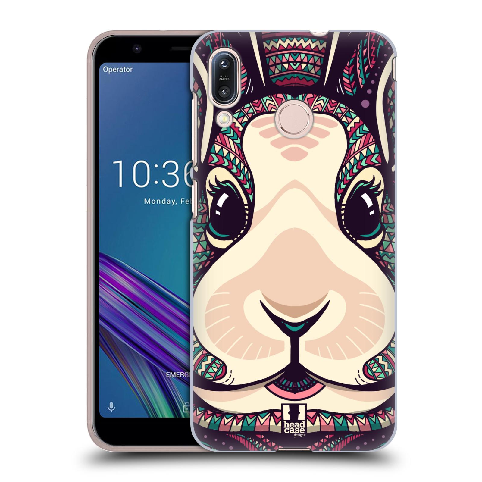 Plastové pouzdro na mobil Asus Zenfone Max M1 ZB555KL - Head Case - AZTEC ZAJÍČEK