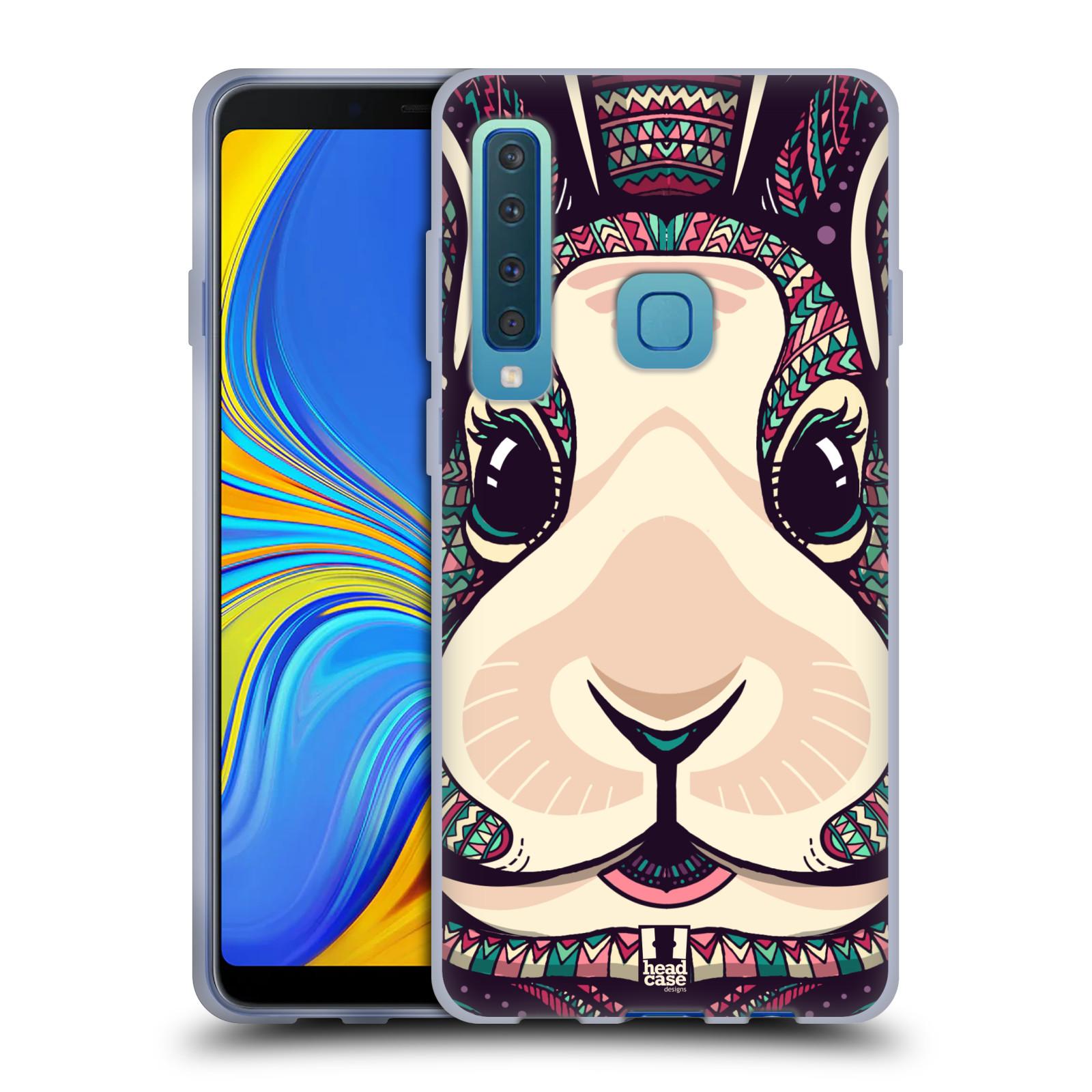 Silikonové pouzdro na mobil Samsung Galaxy A9 (2018) - Head Case - AZTEC ZAJÍČEK