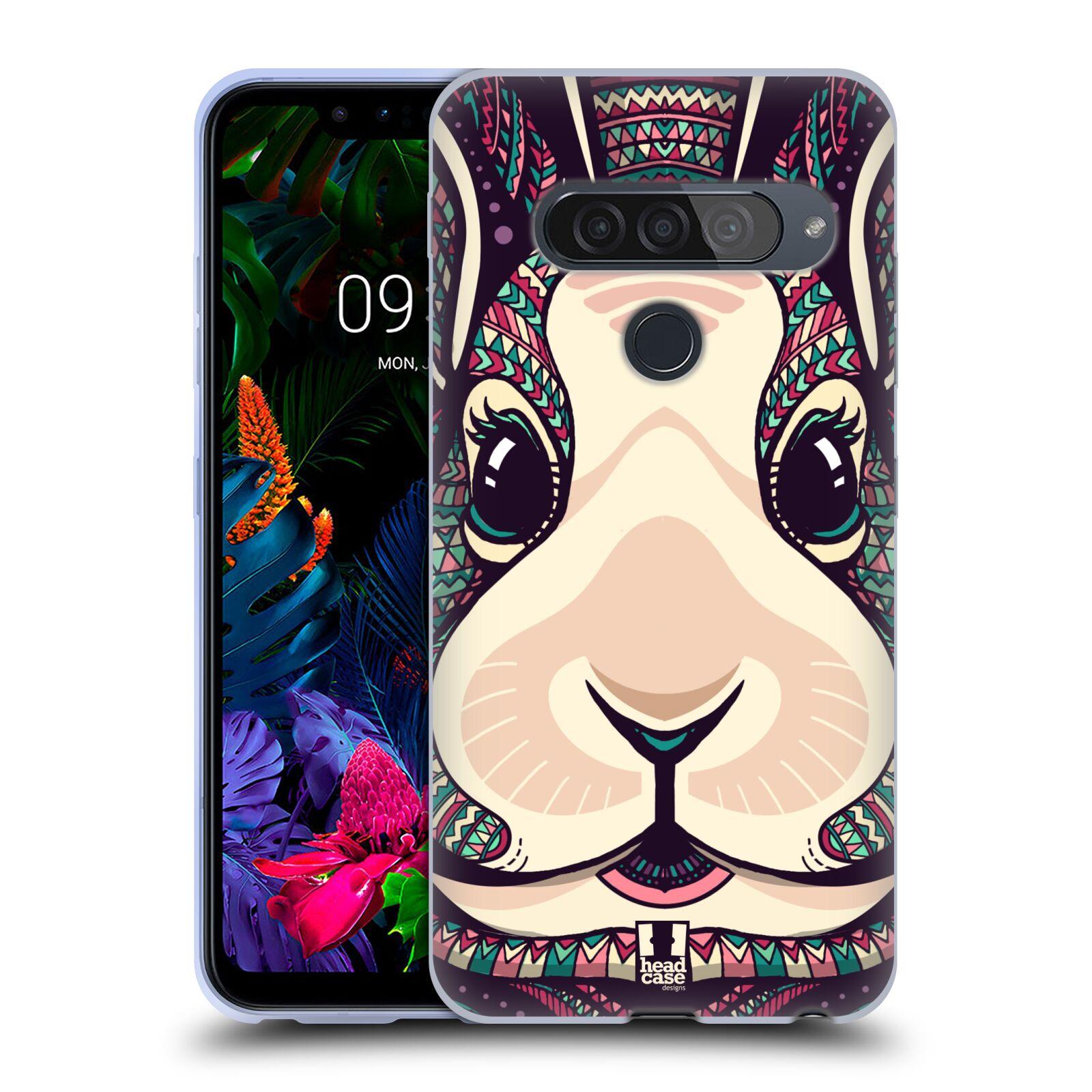 Silikonové pouzdro na mobil LG G8s ThinQ - Head Case - AZTEC ZAJÍČEK