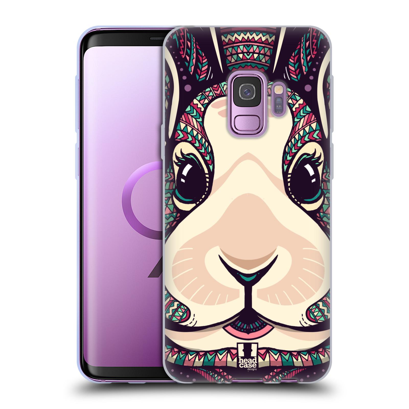 Silikonové pouzdro na mobil Samsung Galaxy S9 - Head Case - AZTEC ZAJÍČEK