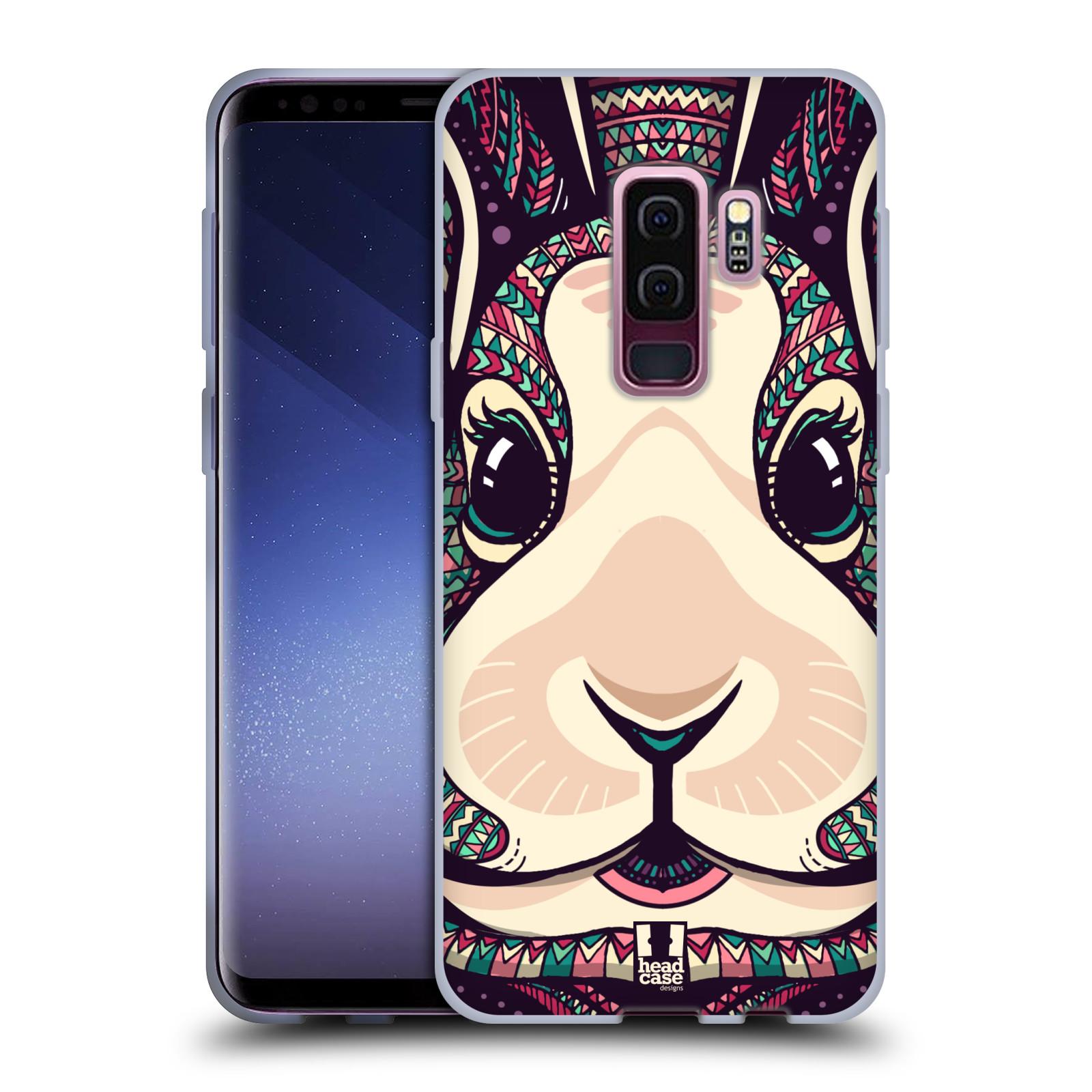 Silikonové pouzdro na mobil Samsung Galaxy S9 Plus - Head Case - AZTEC ZAJÍČEK