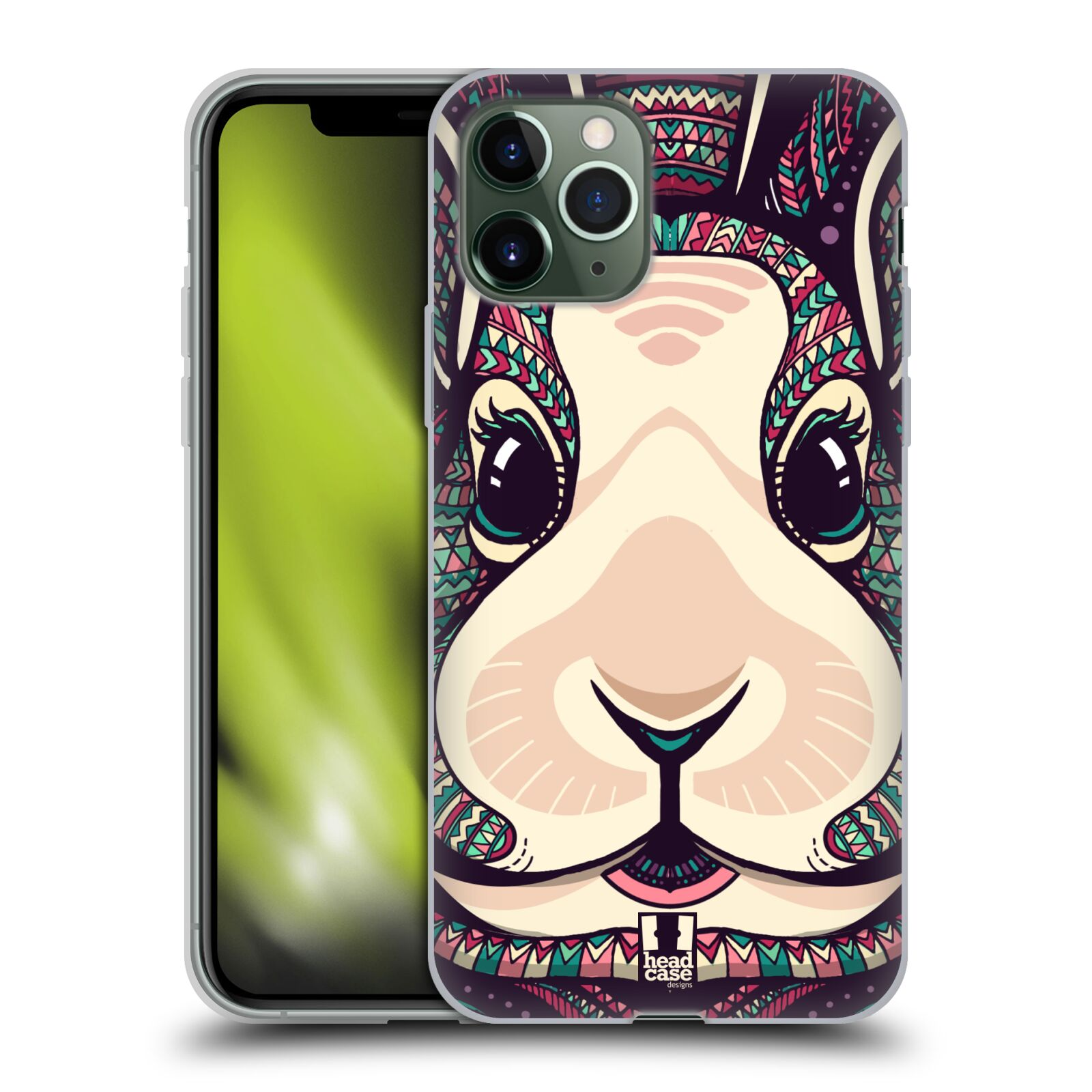 gucci phone case iphone 8 amazon - Silikonové pouzdro na mobil Apple iPhone 11 Pro - Head Case - AZTEC ZAJÍČEK