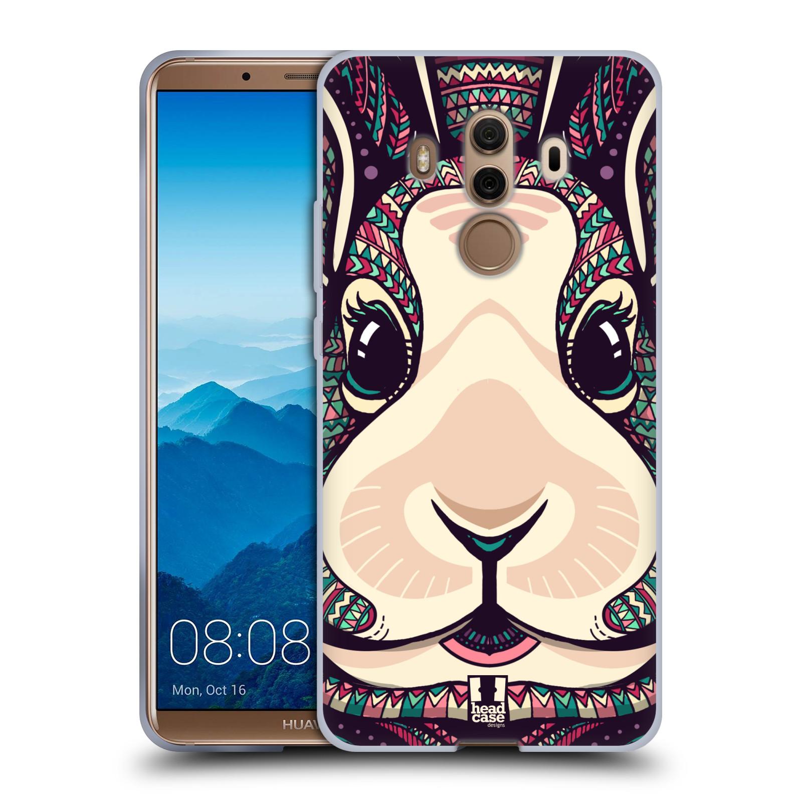 Silikonové pouzdro na mobil Huawei Mate 10 Pro - Head Case - AZTEC ZAJÍČEK