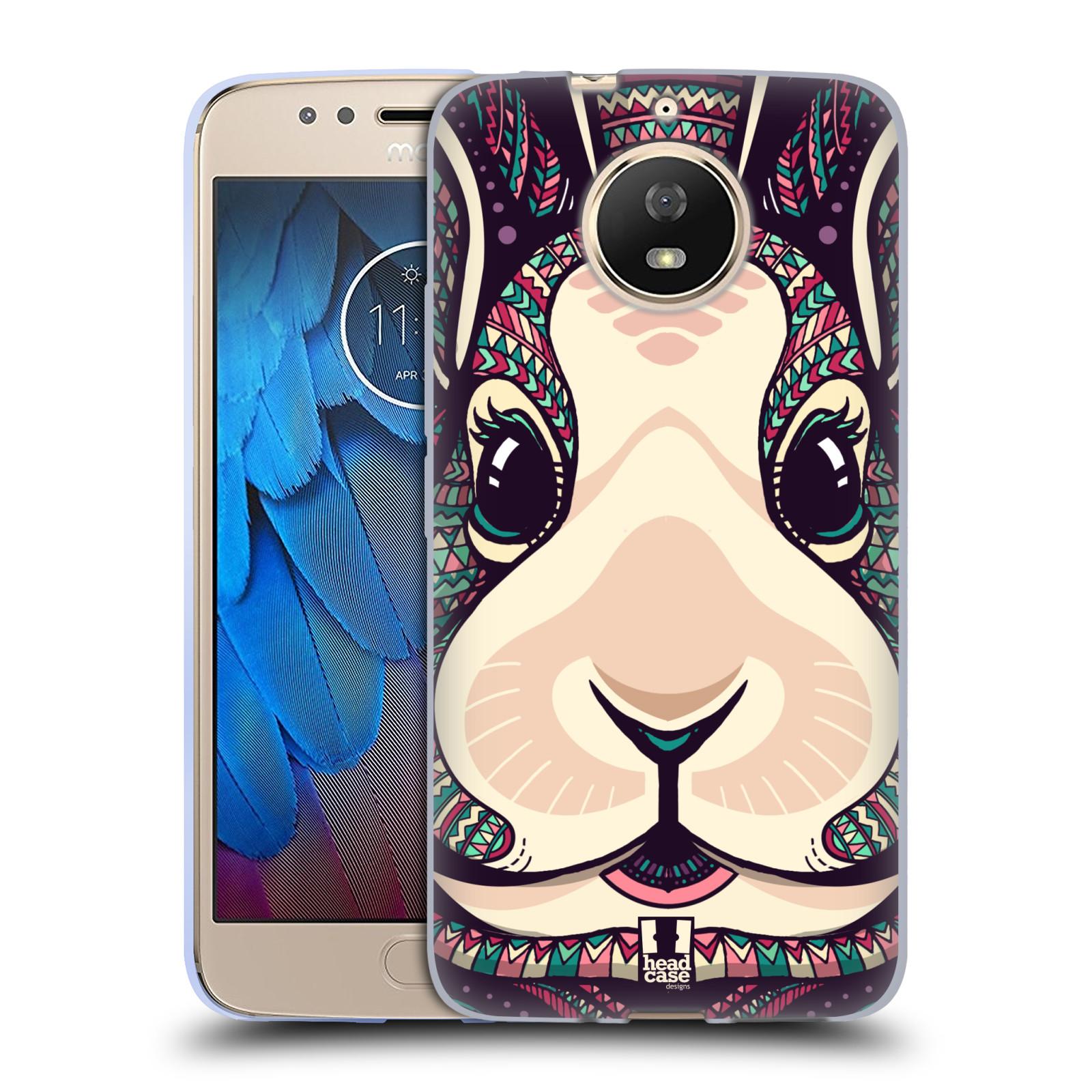 Silikonové pouzdro na mobil Lenovo Moto G5s - Head Case - AZTEC ZAJÍČEK