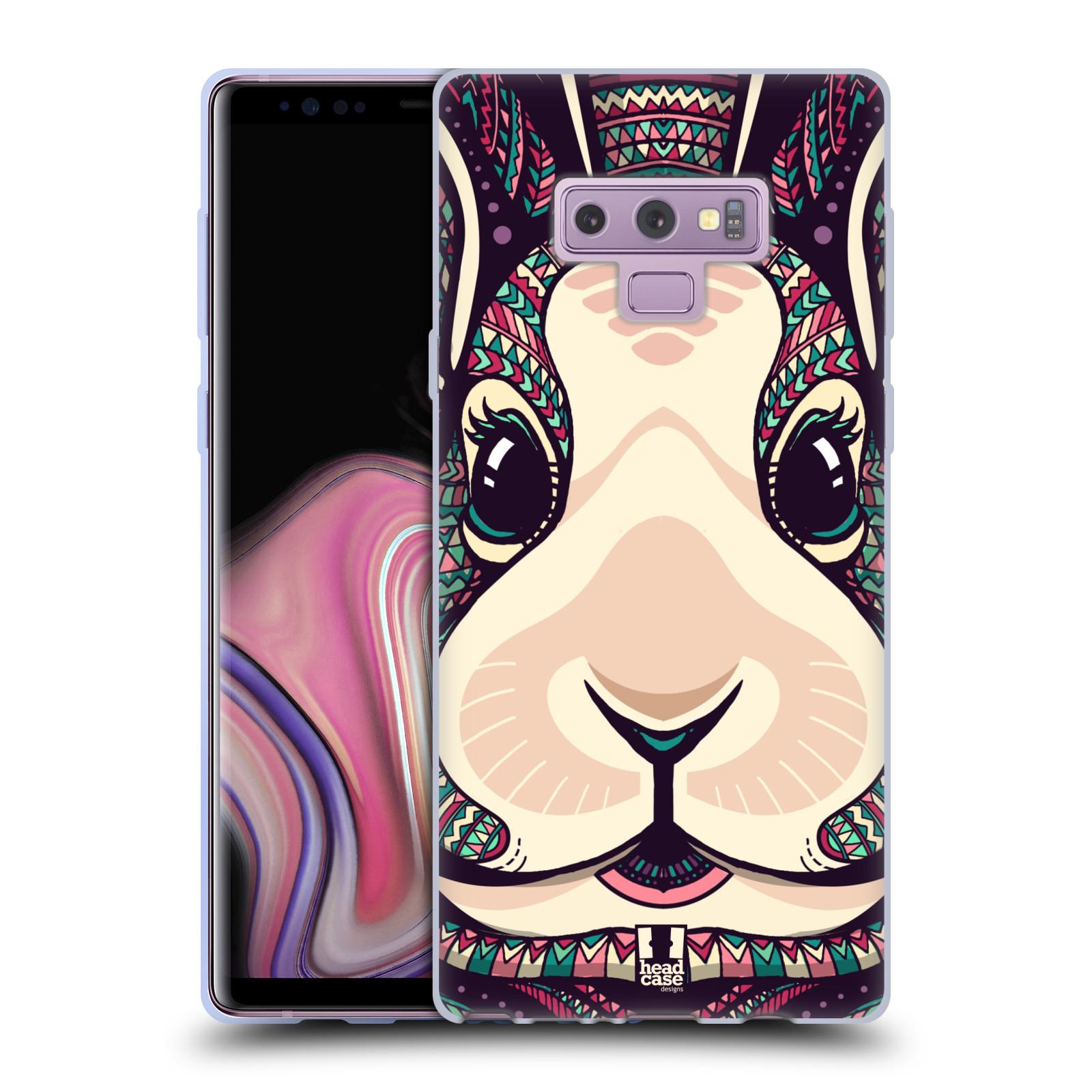 Silikonové pouzdro na mobil Samsung Galaxy Note 9 - Head Case - AZTEC ZAJÍČEK