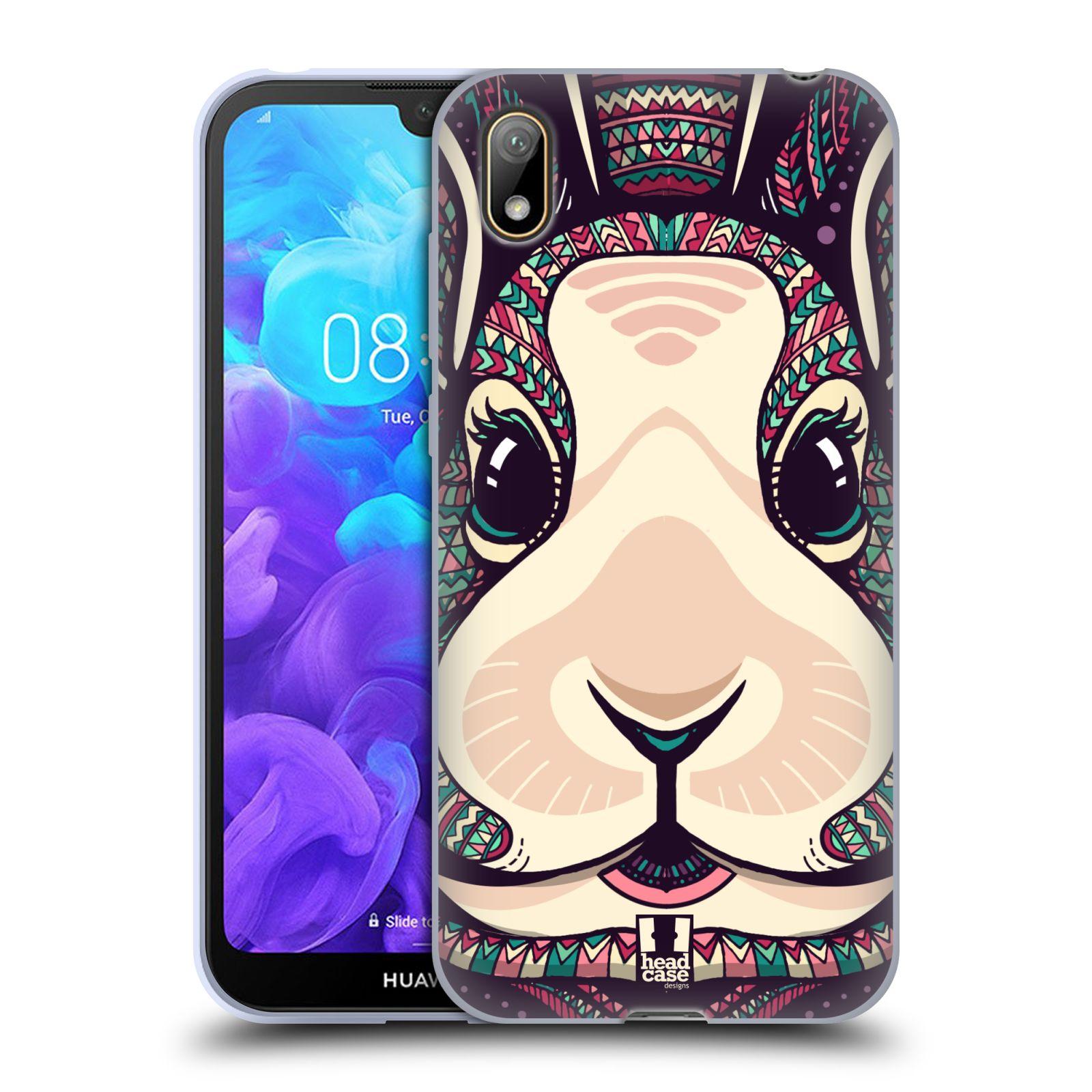 Silikonové pouzdro na mobil Huawei Y5 (2019) - Head Case - AZTEC ZAJÍČEK