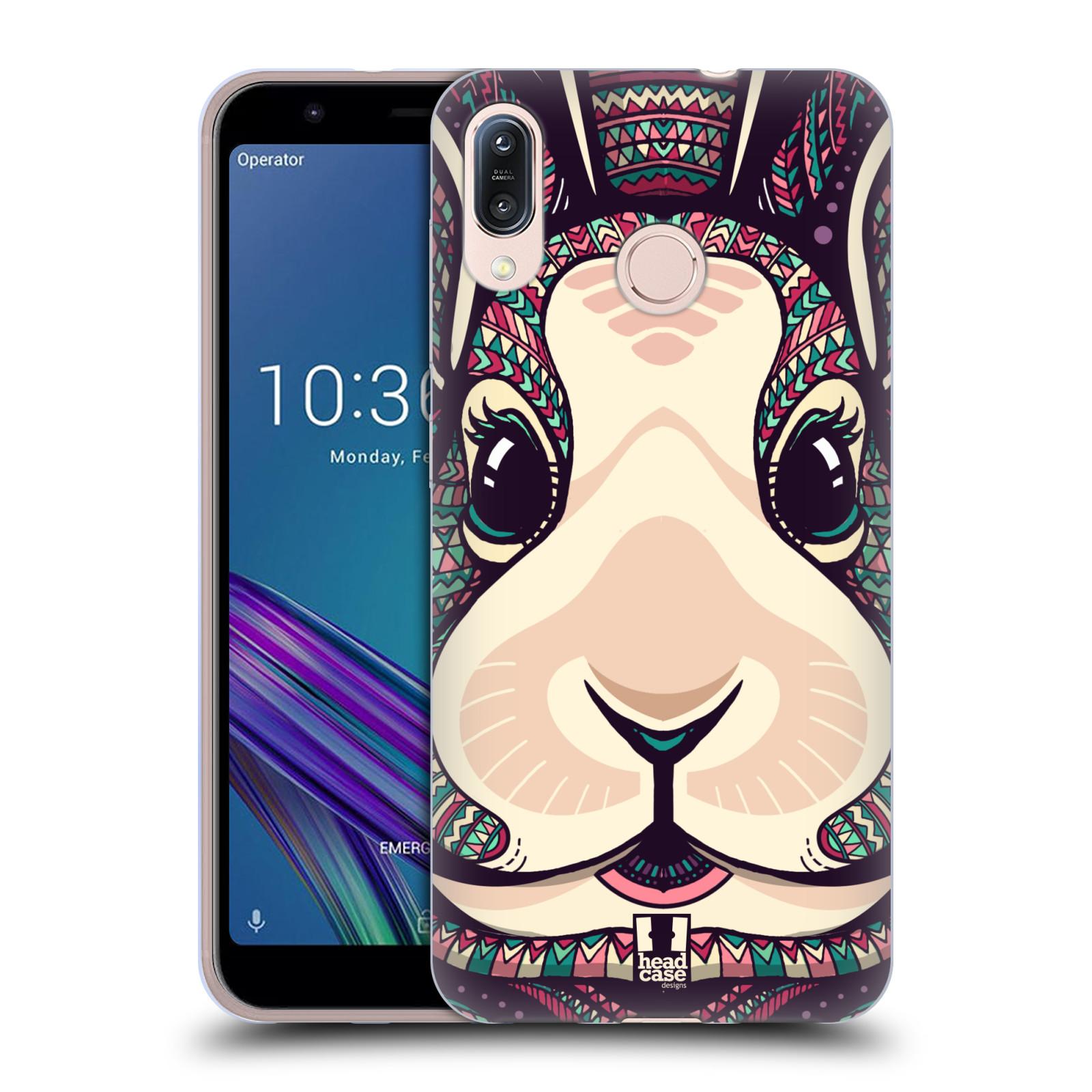 Silikonové pouzdro na mobil Asus Zenfone Max M1 ZB555KL - Head Case - AZTEC ZAJÍČEK