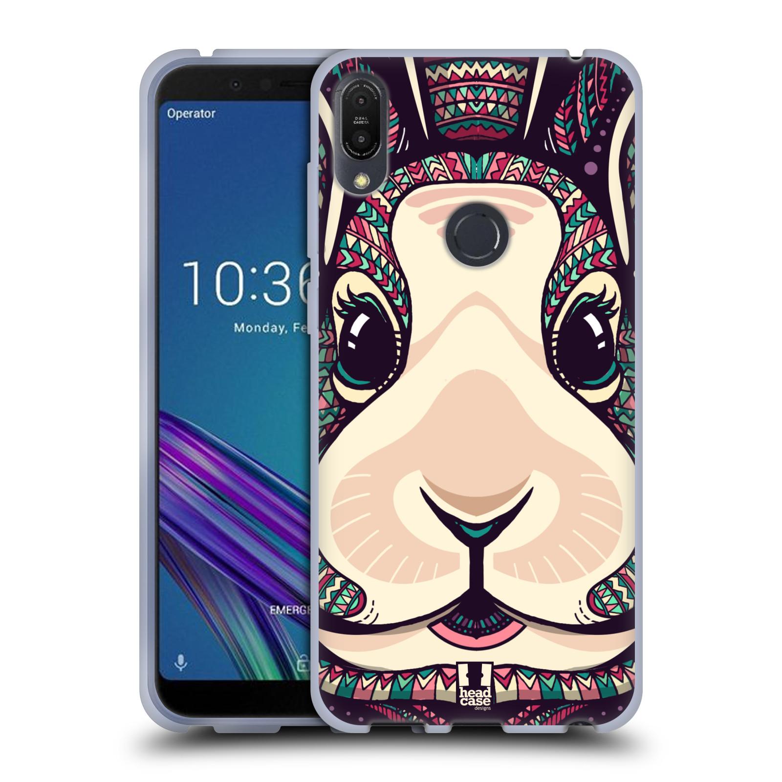 Silikonové pouzdro na mobil Asus ZenFone Max Pro (M1) - Head Case - AZTEC ZAJÍČEK