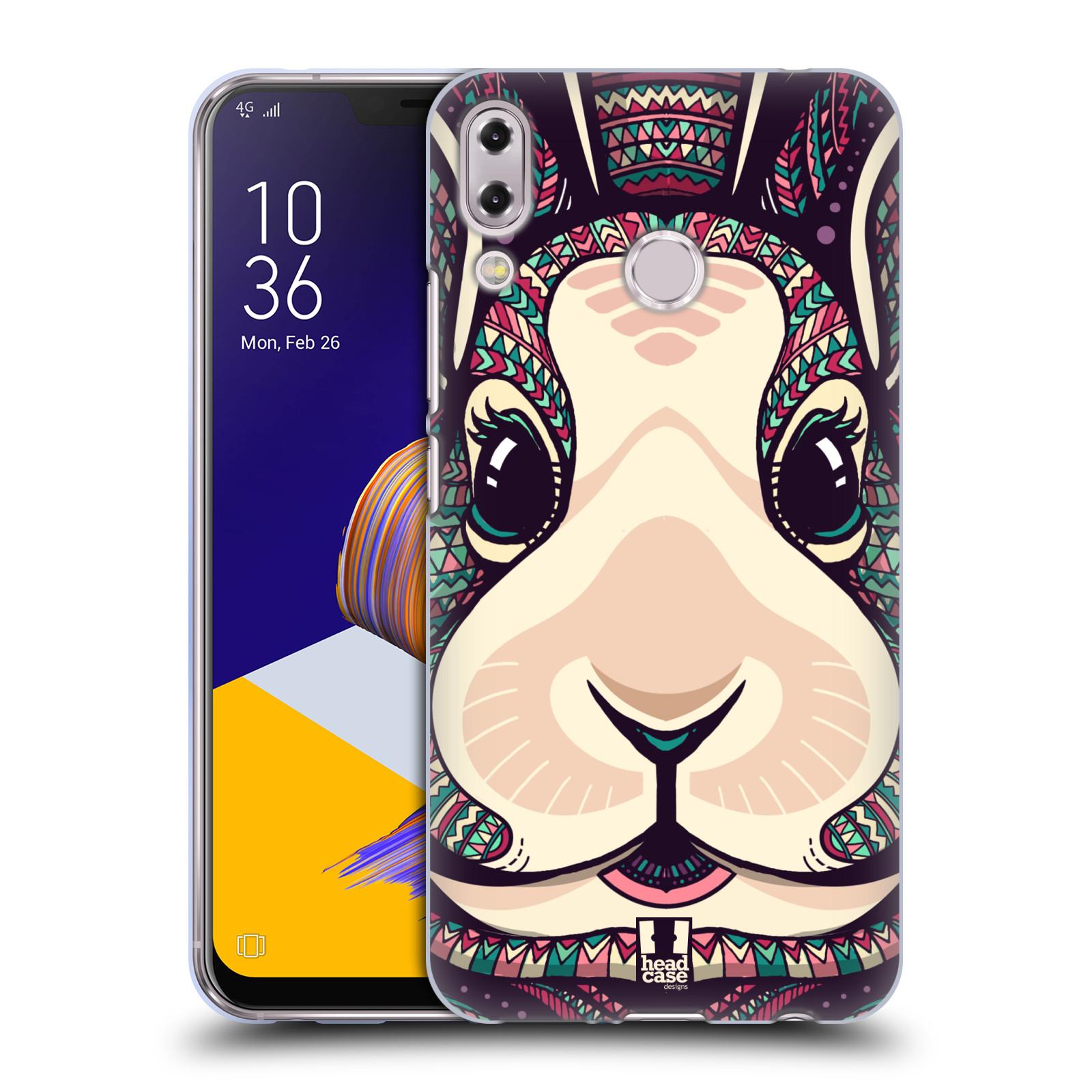 Silikonové pouzdro na mobil Asus Zenfone 5z ZS620KL - Head Case - AZTEC ZAJÍČEK