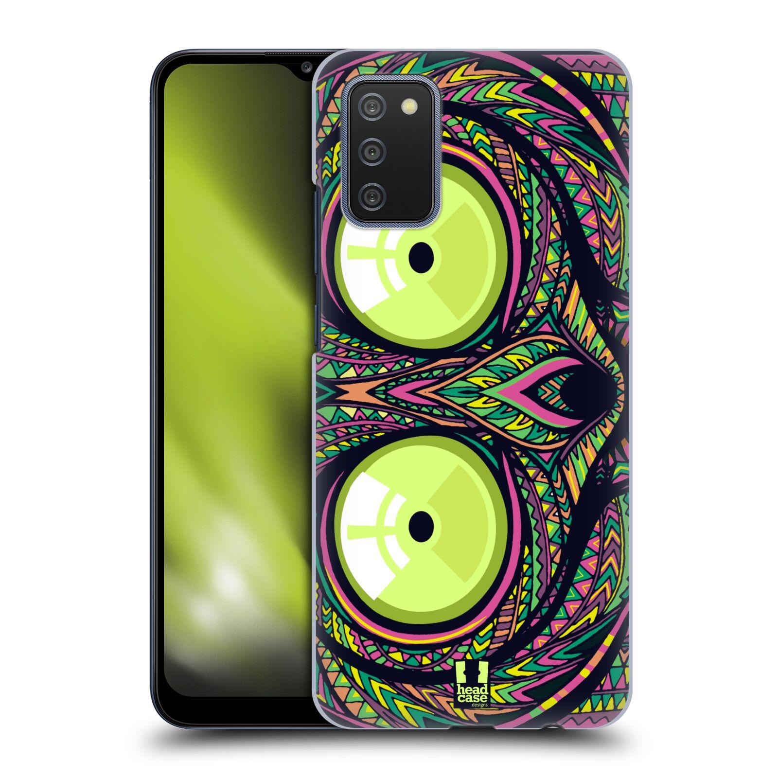 Plastové pouzdro na mobil Samsung Galaxy A02s - Head Case - AZTEC NÁRTOUN