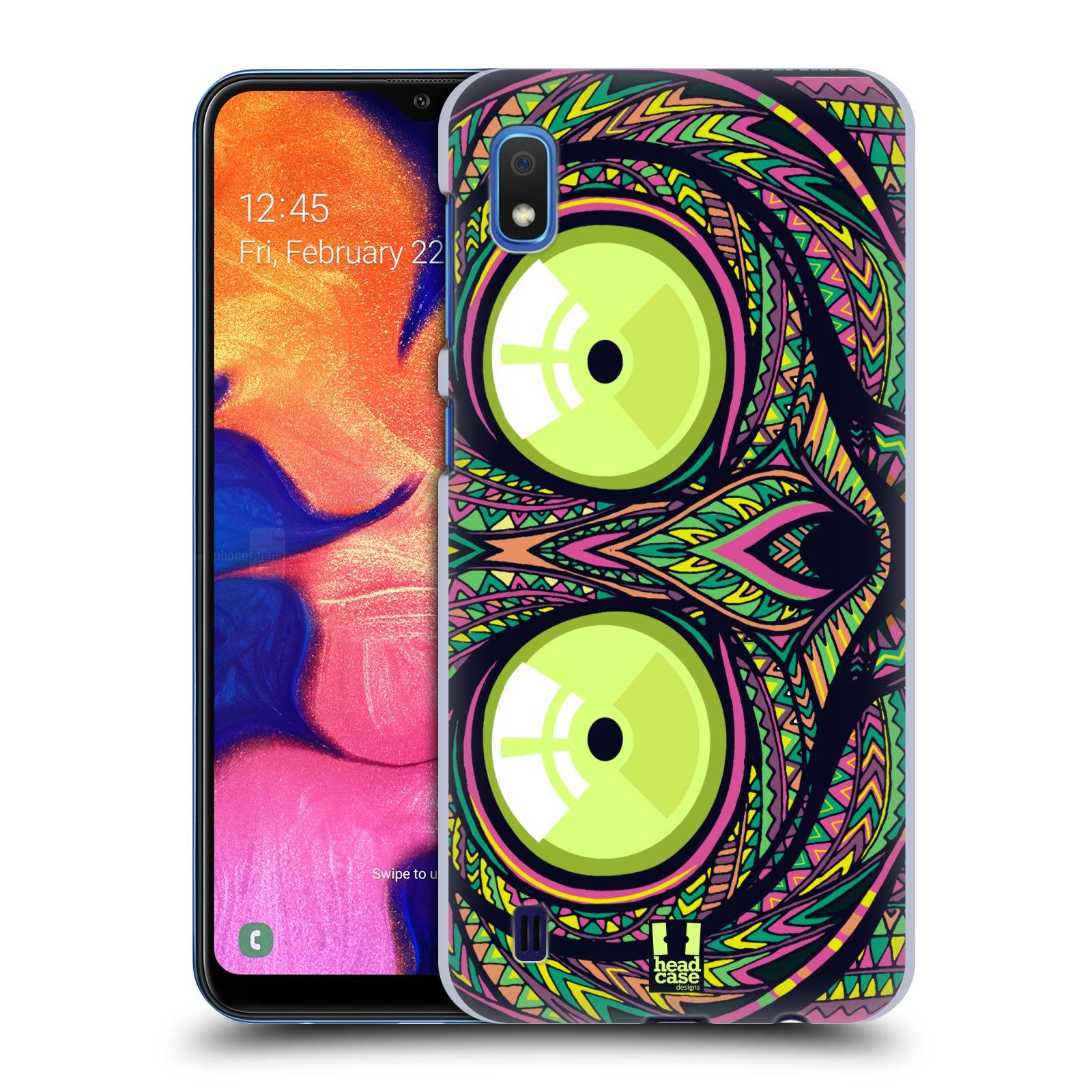 Plastové pouzdro na mobil Samsung Galaxy A10 - Head Case - AZTEC NÁRTOUN