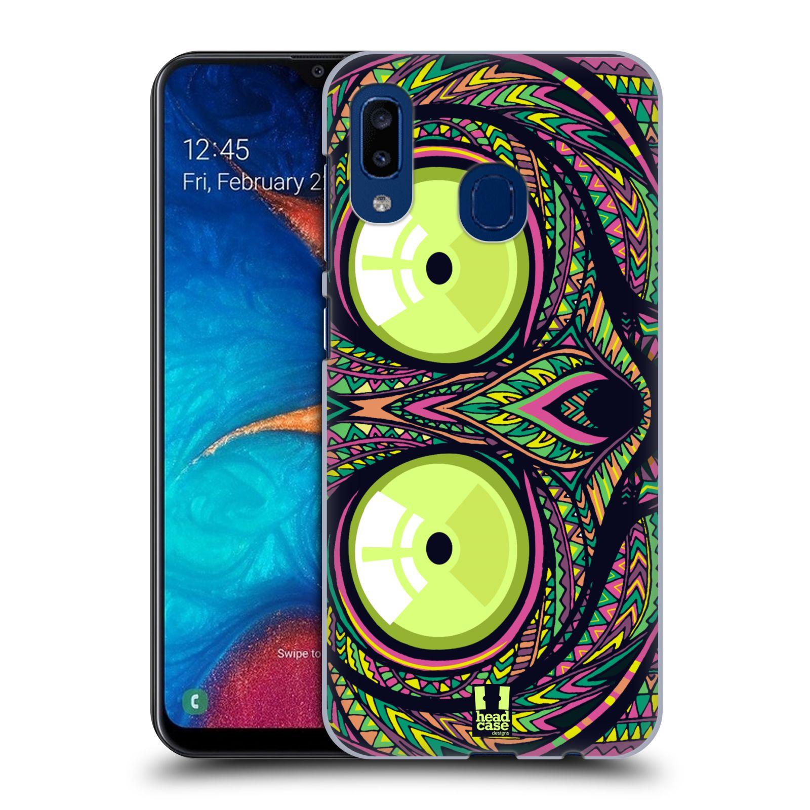 Plastové pouzdro na mobil Samsung Galaxy A20 - Head Case - AZTEC NÁRTOUN