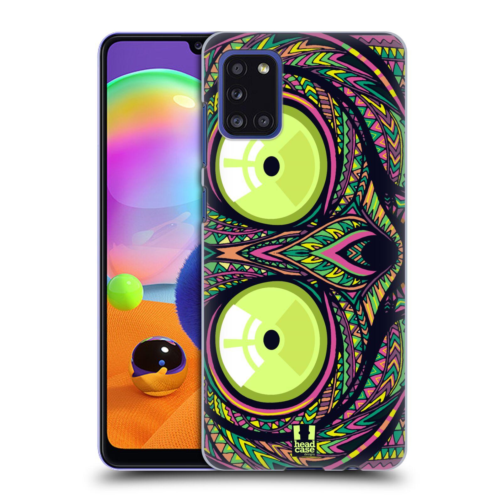 Plastové pouzdro na mobil Samsung Galaxy A31 - Head Case - AZTEC NÁRTOUN