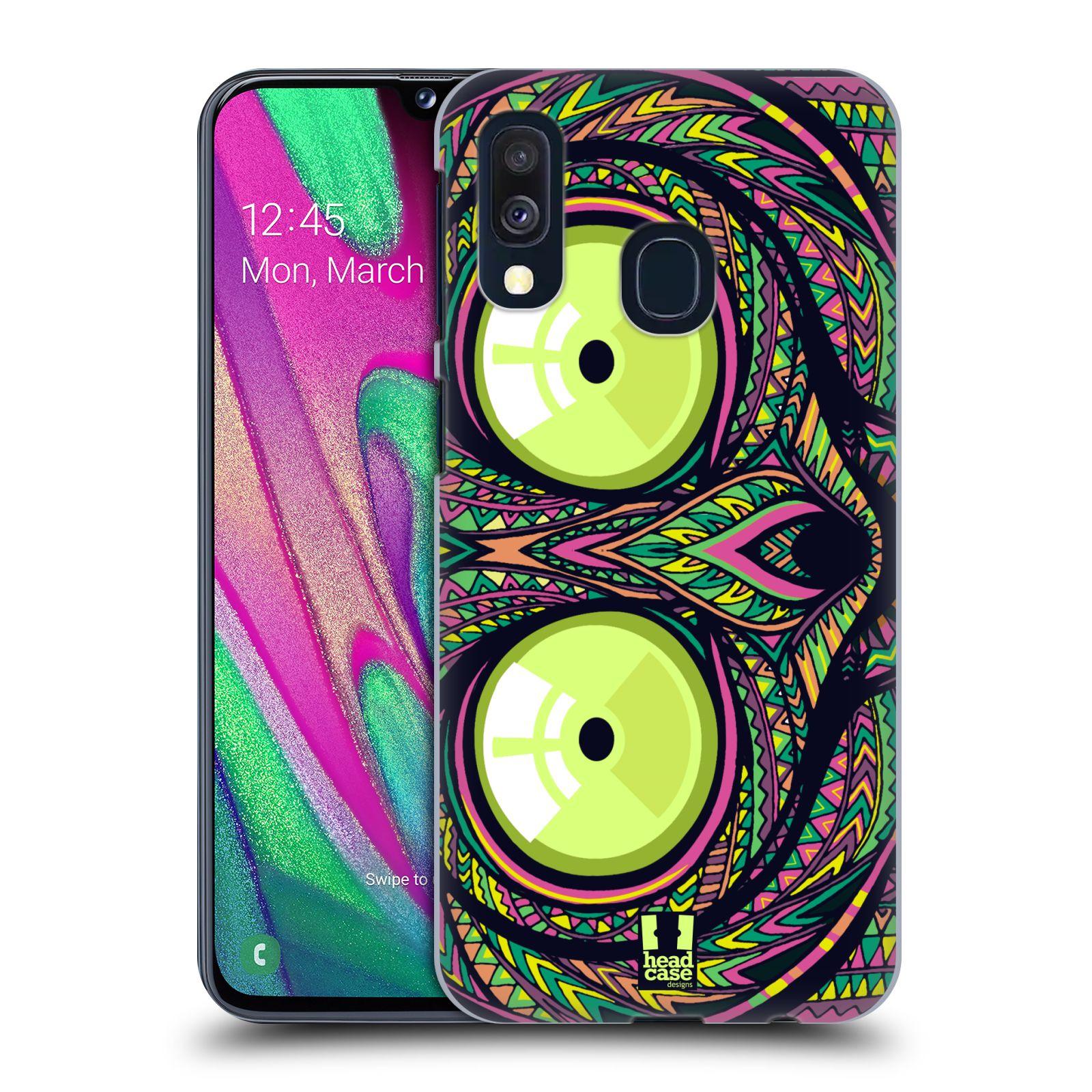 Plastové pouzdro na mobil Samsung Galaxy A40 - Head Case - AZTEC NÁRTOUN