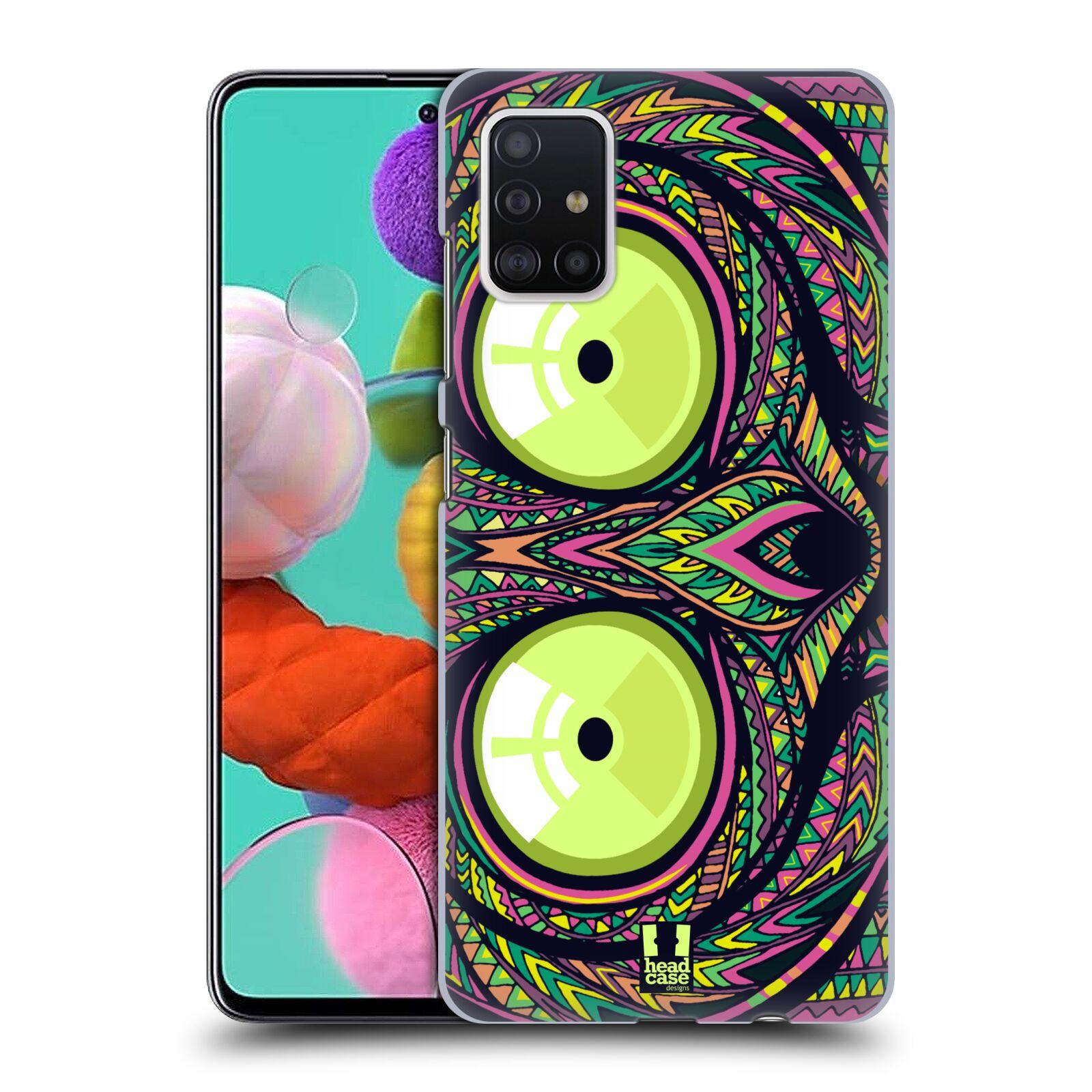 Plastové pouzdro na mobil Samsung Galaxy A51 - Head Case - AZTEC NÁRTOUN