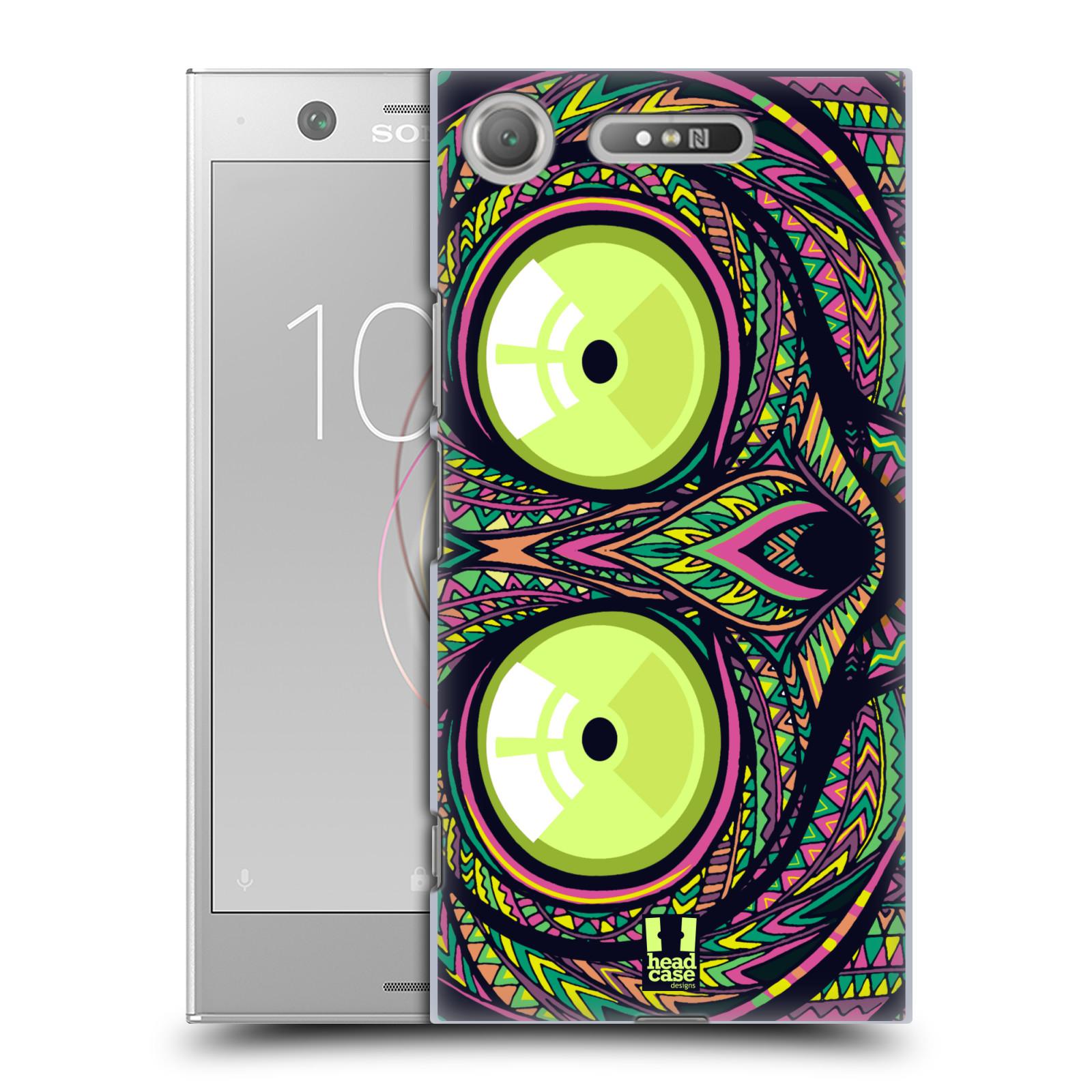 Plastové pouzdro na mobil Sony Xperia XZ1 - Head Case - AZTEC NÁRTOUN
