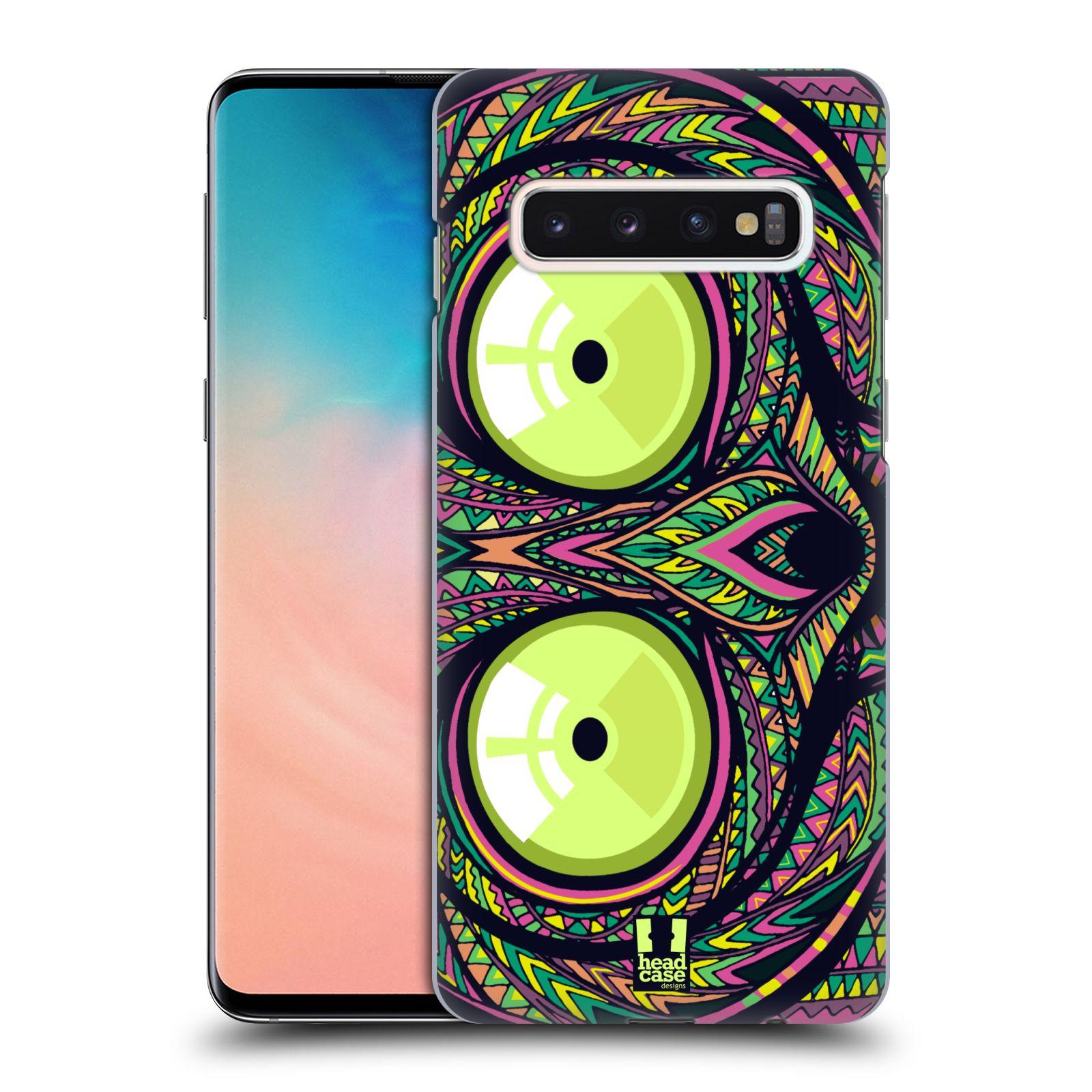 Plastové pouzdro na mobil Samsung Galaxy S10 - Head Case - AZTEC NÁRTOUN