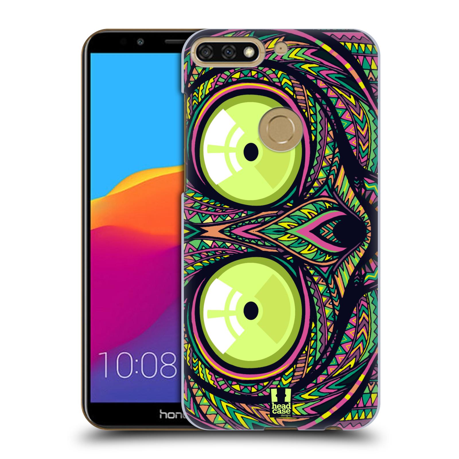 Plastové pouzdro na mobil Huawei Y7 Prime 2018 - Head Case - AZTEC NÁRTOUN