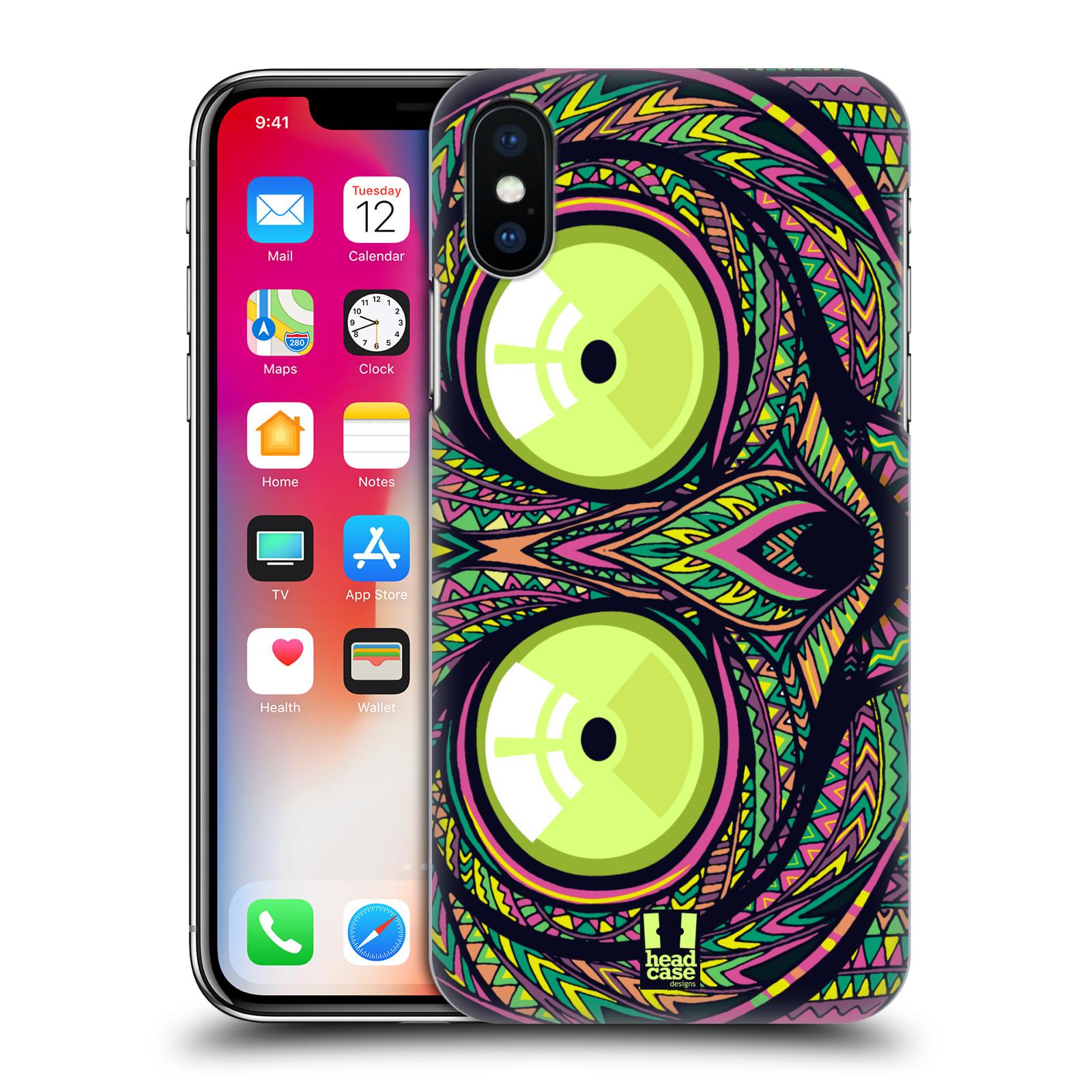 Plastové pouzdro na mobil Apple iPhone X - Head Case - AZTEC NÁRTOUN