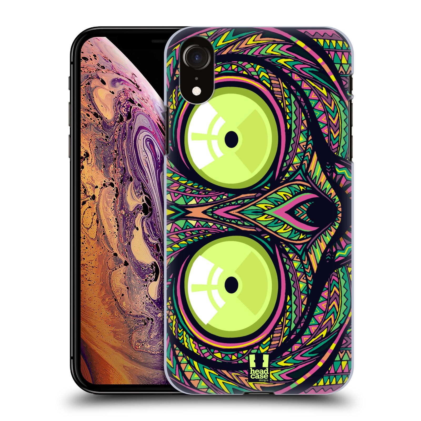Plastové pouzdro na mobil Apple iPhone XR - Head Case - AZTEC NÁRTOUN