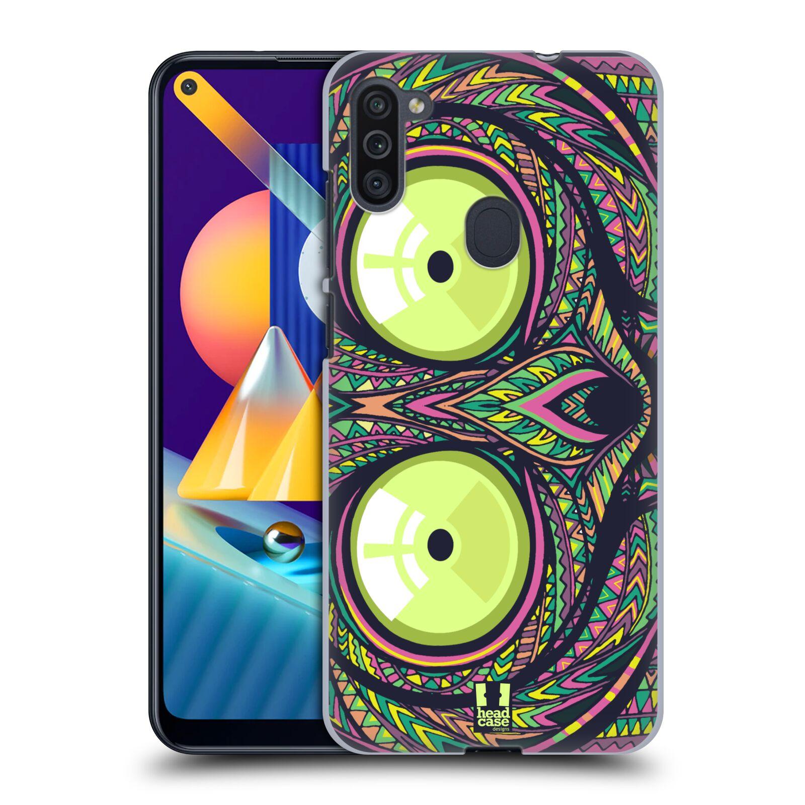 Plastové pouzdro na mobil Samsung Galaxy M11 - Head Case - AZTEC NÁRTOUN