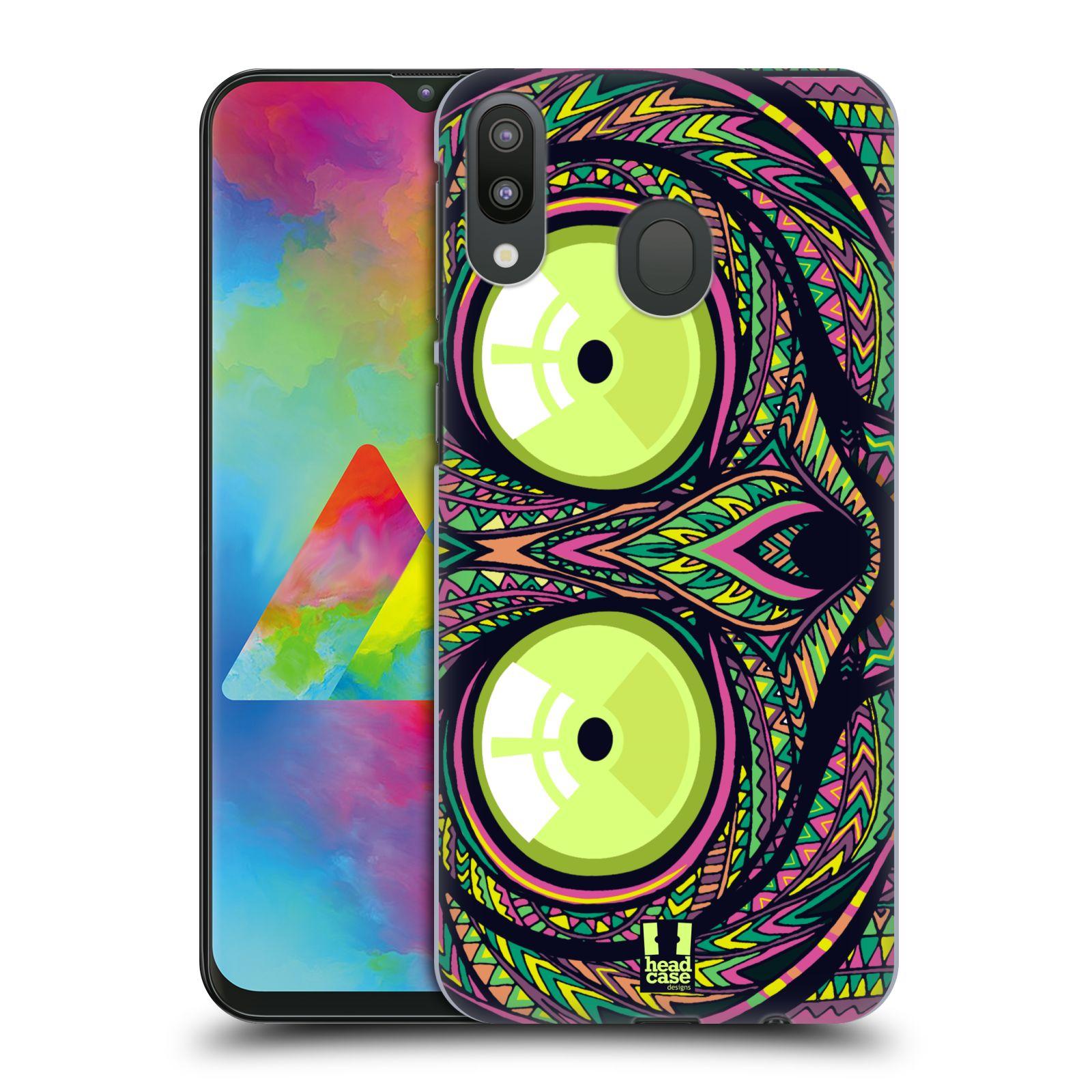 Plastové pouzdro na mobil Samsung Galaxy M20 - Head Case - AZTEC NÁRTOUN