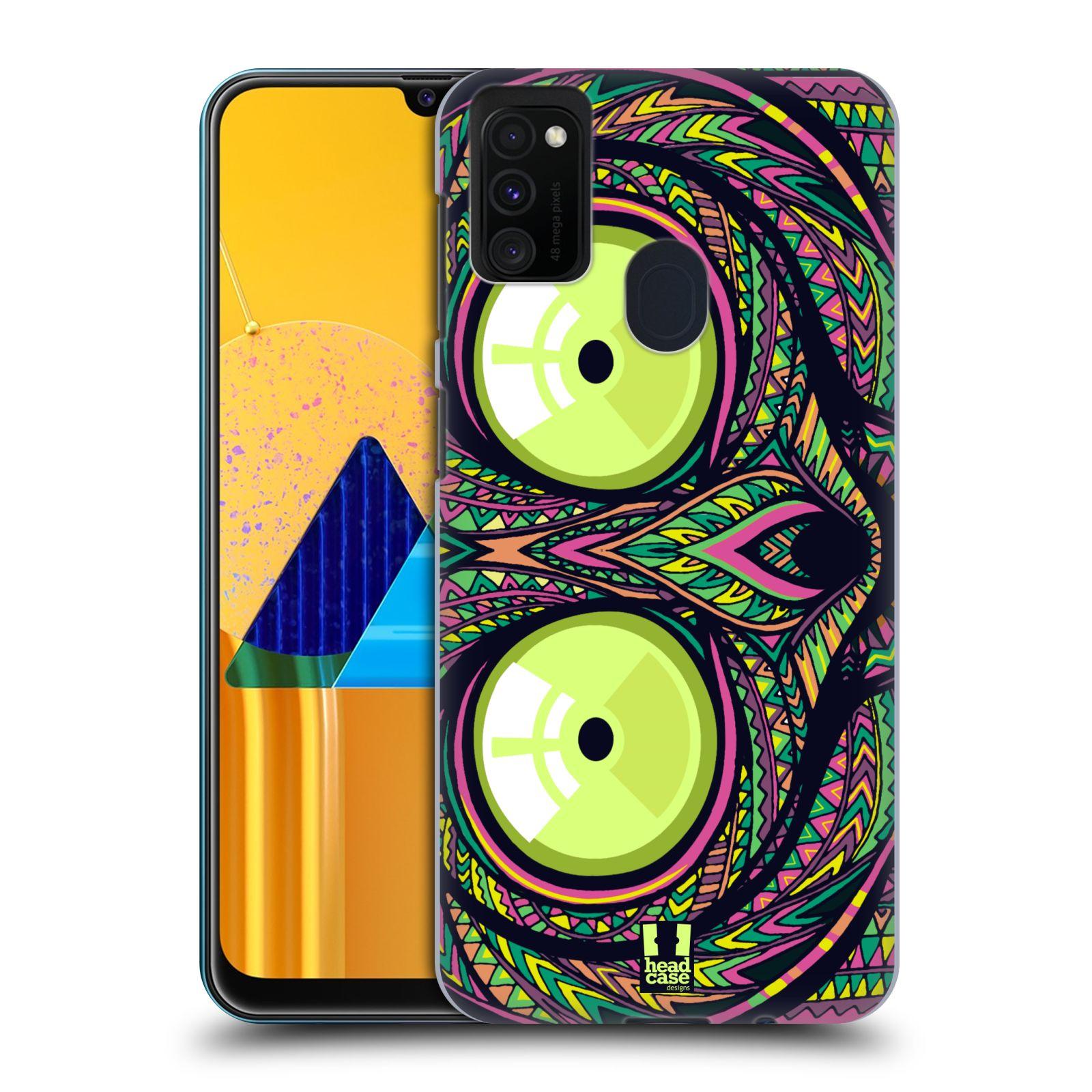 Plastové pouzdro na mobil Samsung Galaxy M21 - Head Case - AZTEC NÁRTOUN
