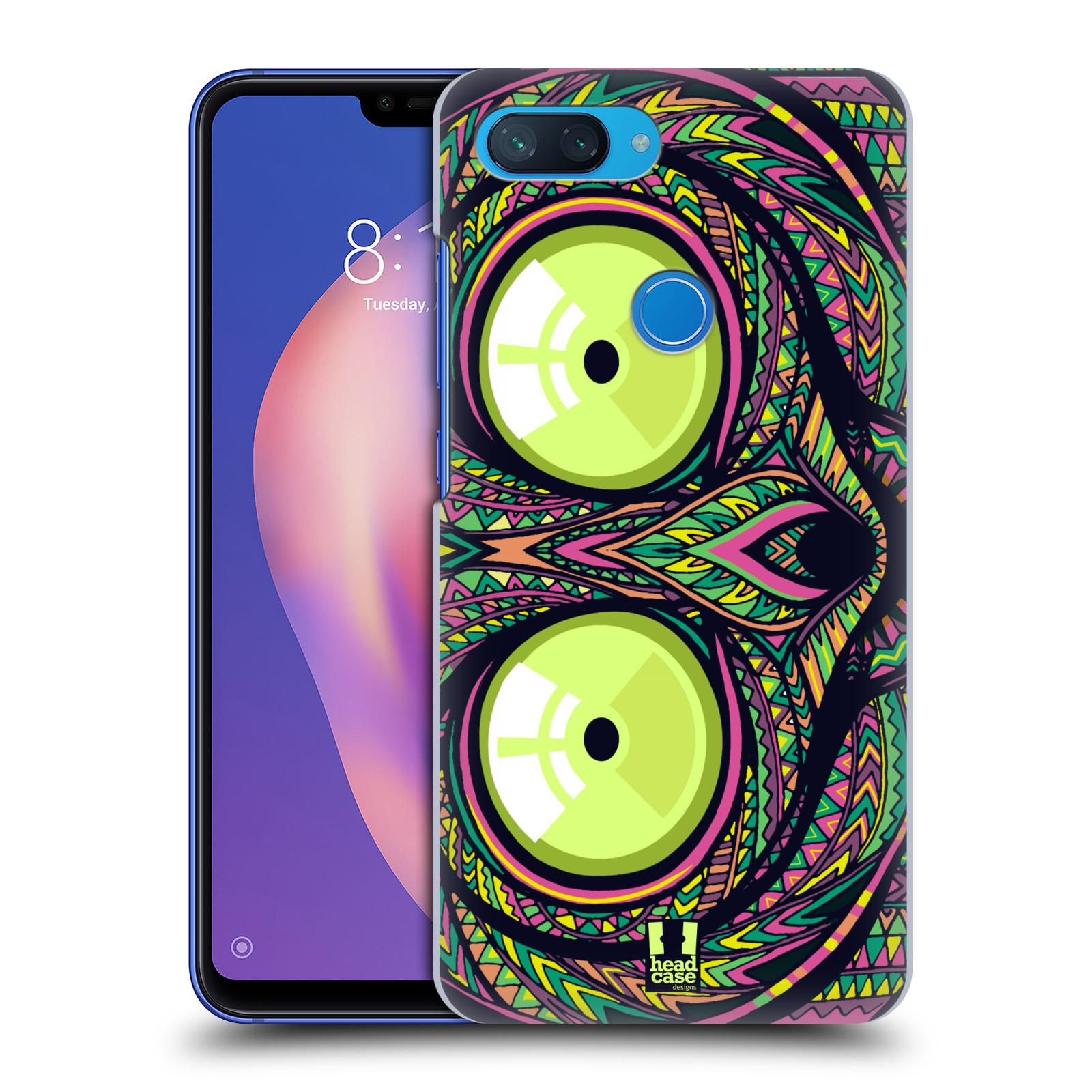 Plastové pouzdro na mobil Xiaomi Mi 8 Lite - Head Case - AZTEC NÁRTOUN