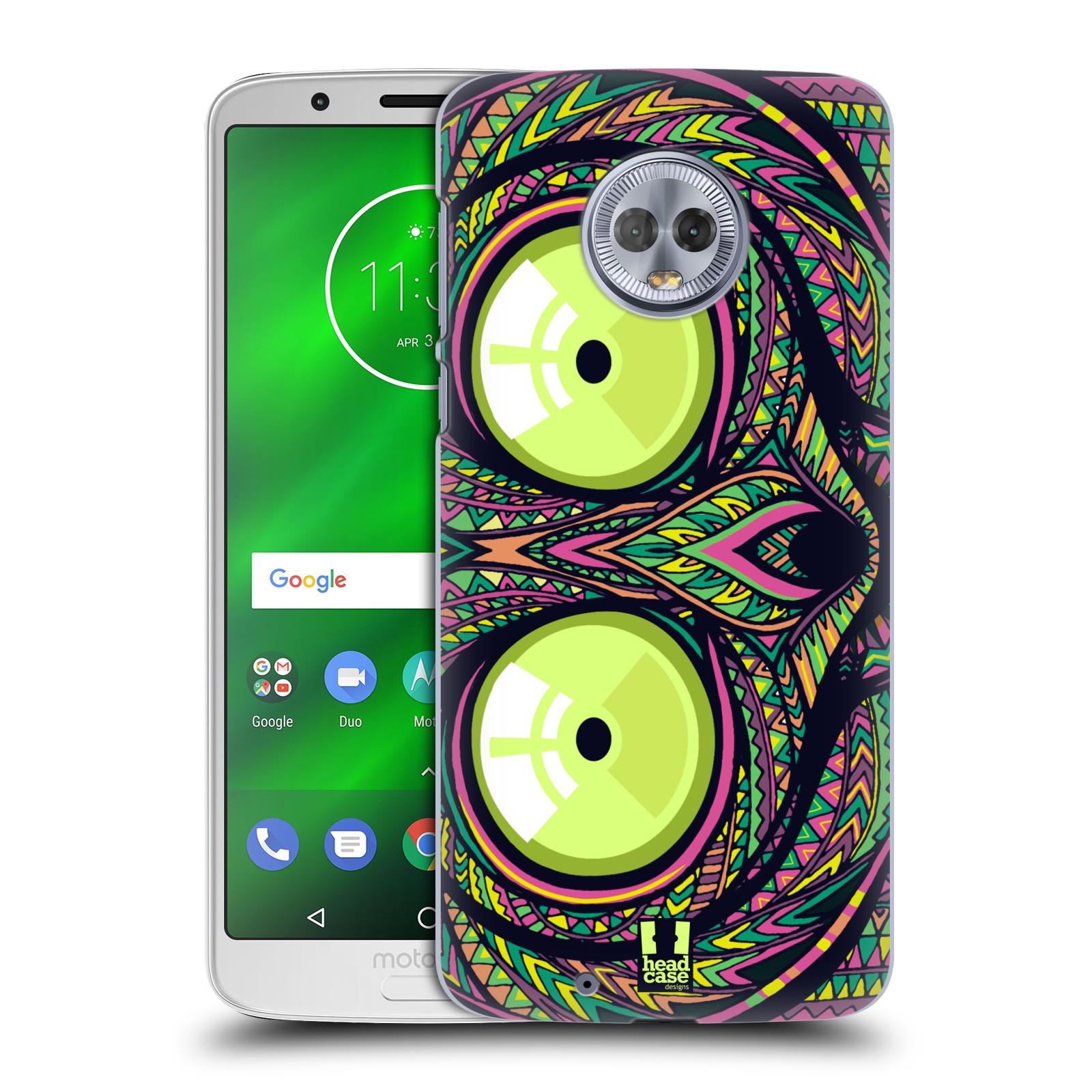 Plastové pouzdro na mobil Motorola Moto G6 - Head Case - AZTEC NÁRTOUN