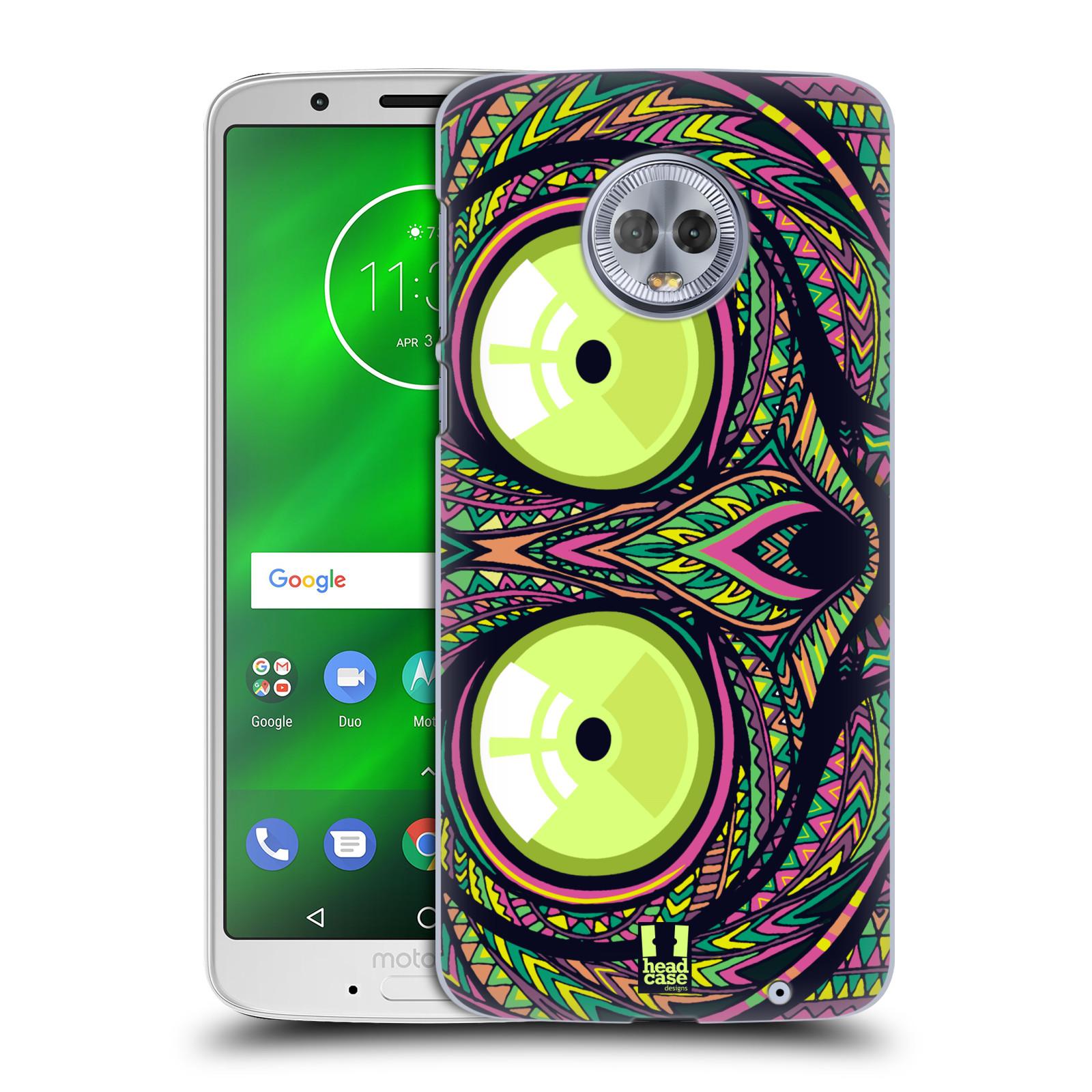 Plastové pouzdro na mobil Motorola Moto G6 Plus - Head Case - AZTEC NÁRTOUN