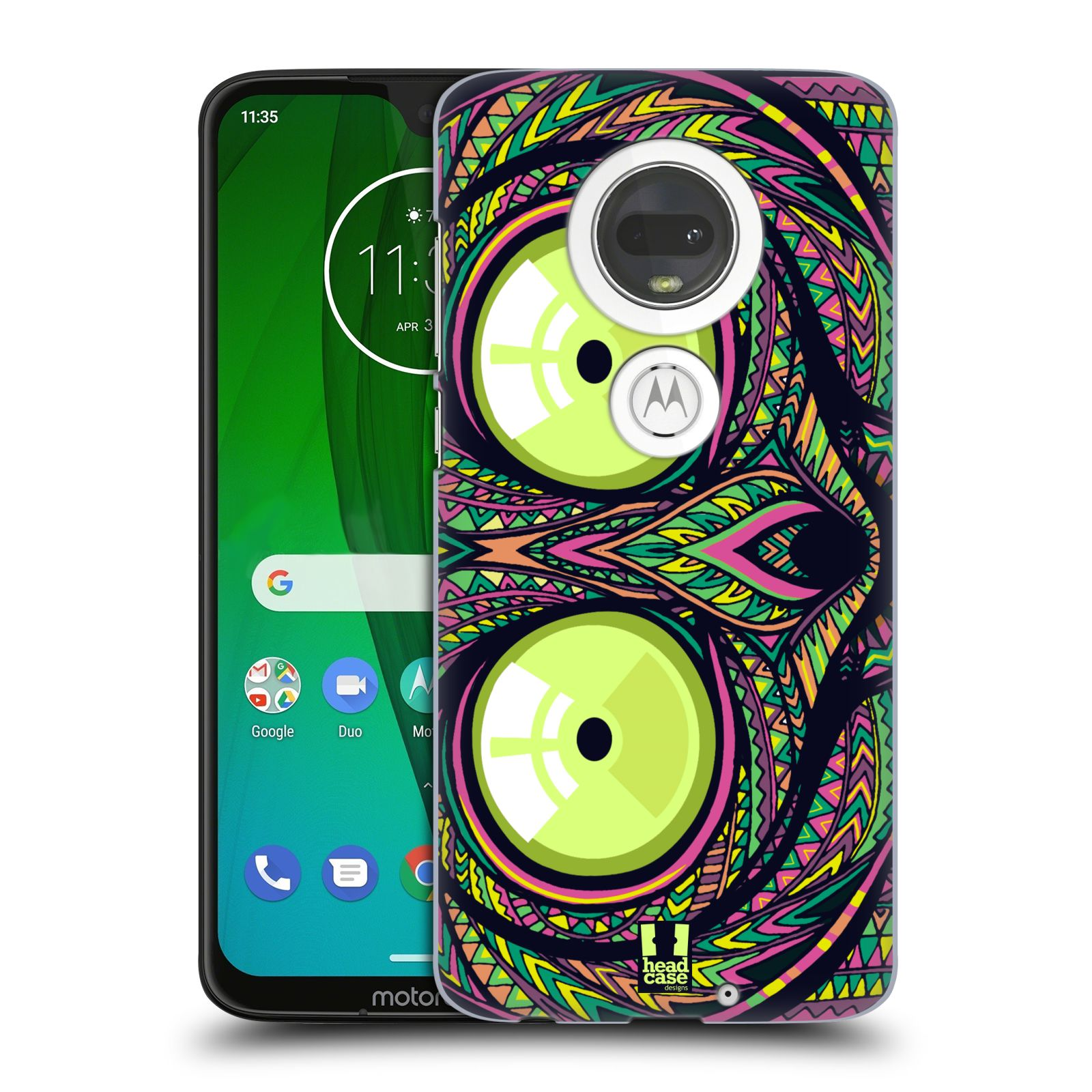 Plastové pouzdro na mobil Motorola Moto G7 - Head Case - AZTEC NÁRTOUN