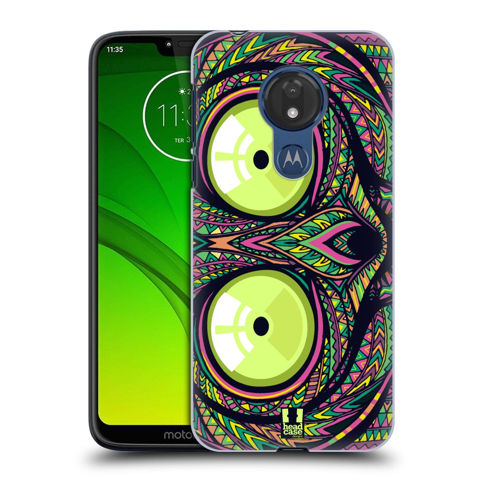 Plastové pouzdro na mobil Motorola Moto G7 Power - Head Case - AZTEC NÁRTOUN